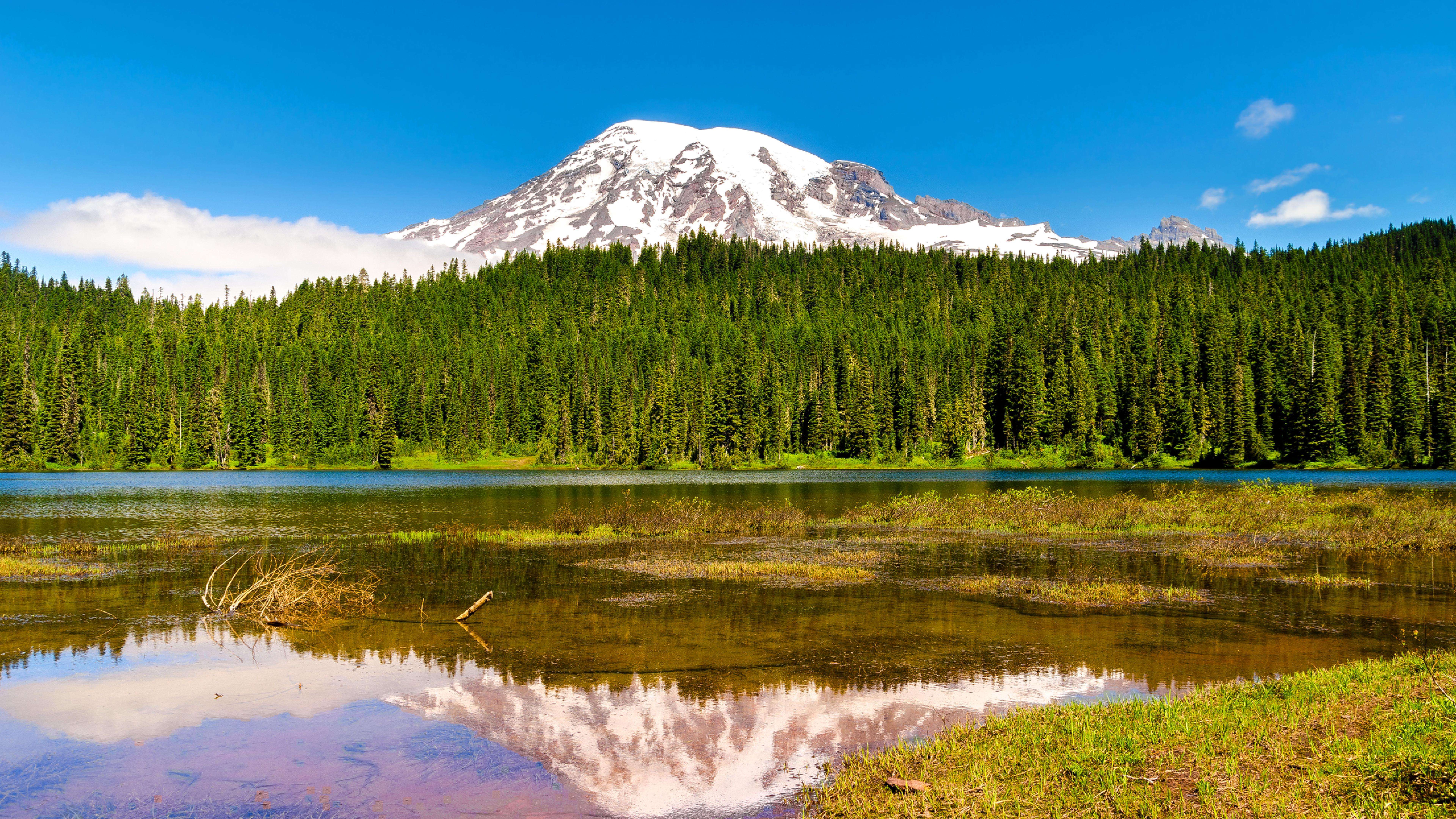озеро гора снег  № 579208 без смс