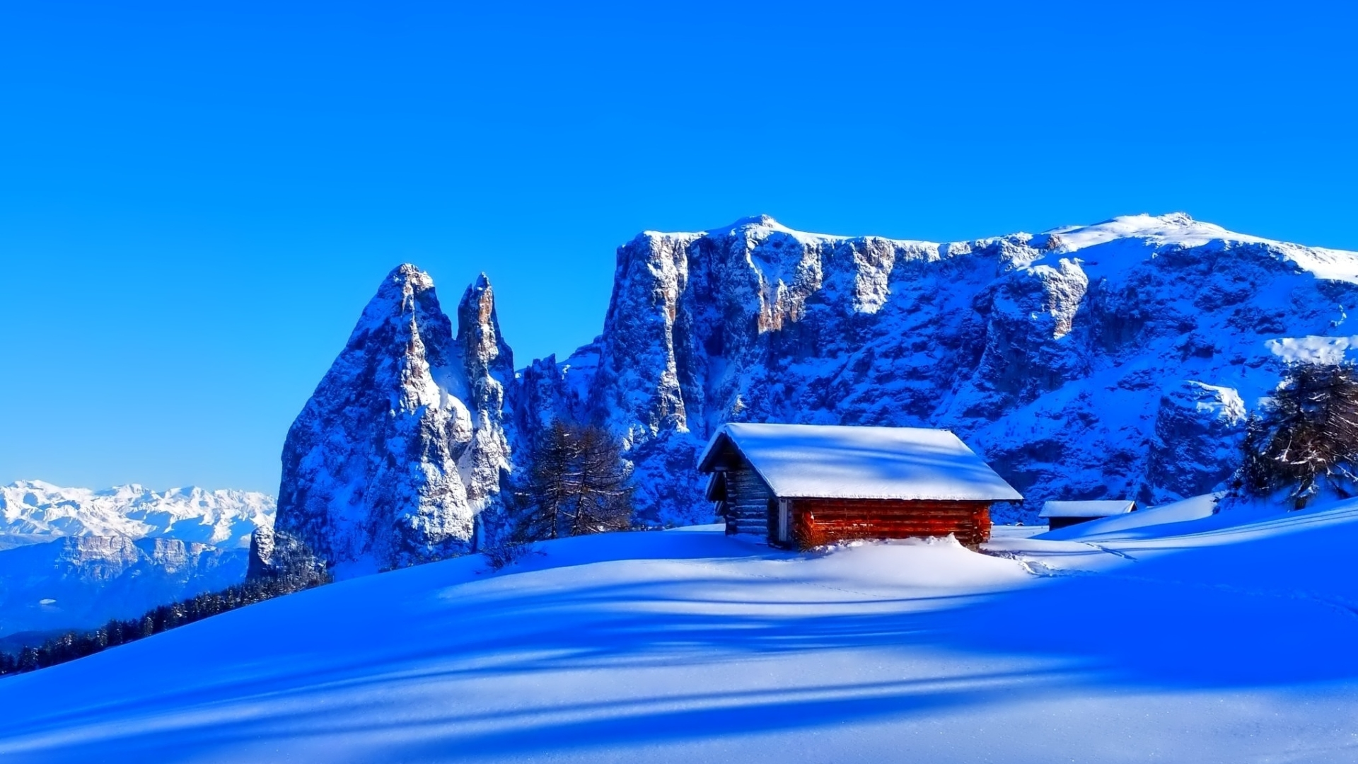 1920x1080 Mountains Snow Hut 1080p Laptop Full Hd Wallpaper Hd Nature 4k Wallpapers Images Photos And Background
