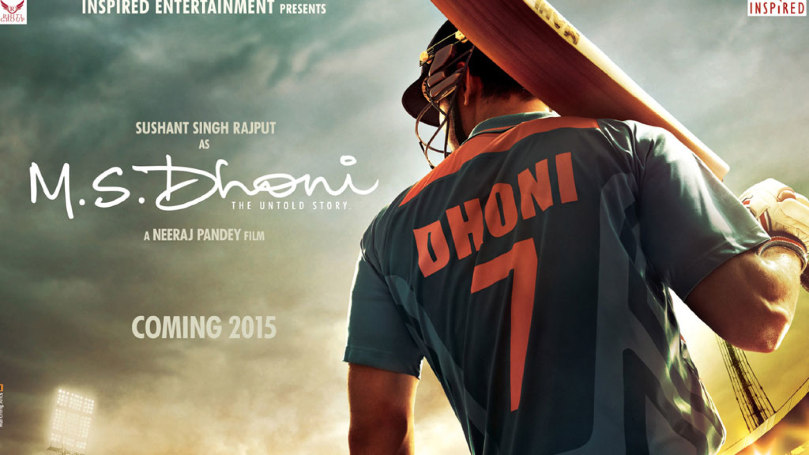 1600x900 Ms Dhoni Untold Story Poster 1600x900 Resolution Wallpaper Hd Movies 4k Wallpapers Images Photos And Background