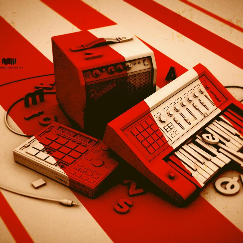 Wonderful Wallpaper Music Ipad Mini - music-tape-drawing_23296_1224x1224  Snapshot_672665.jpg