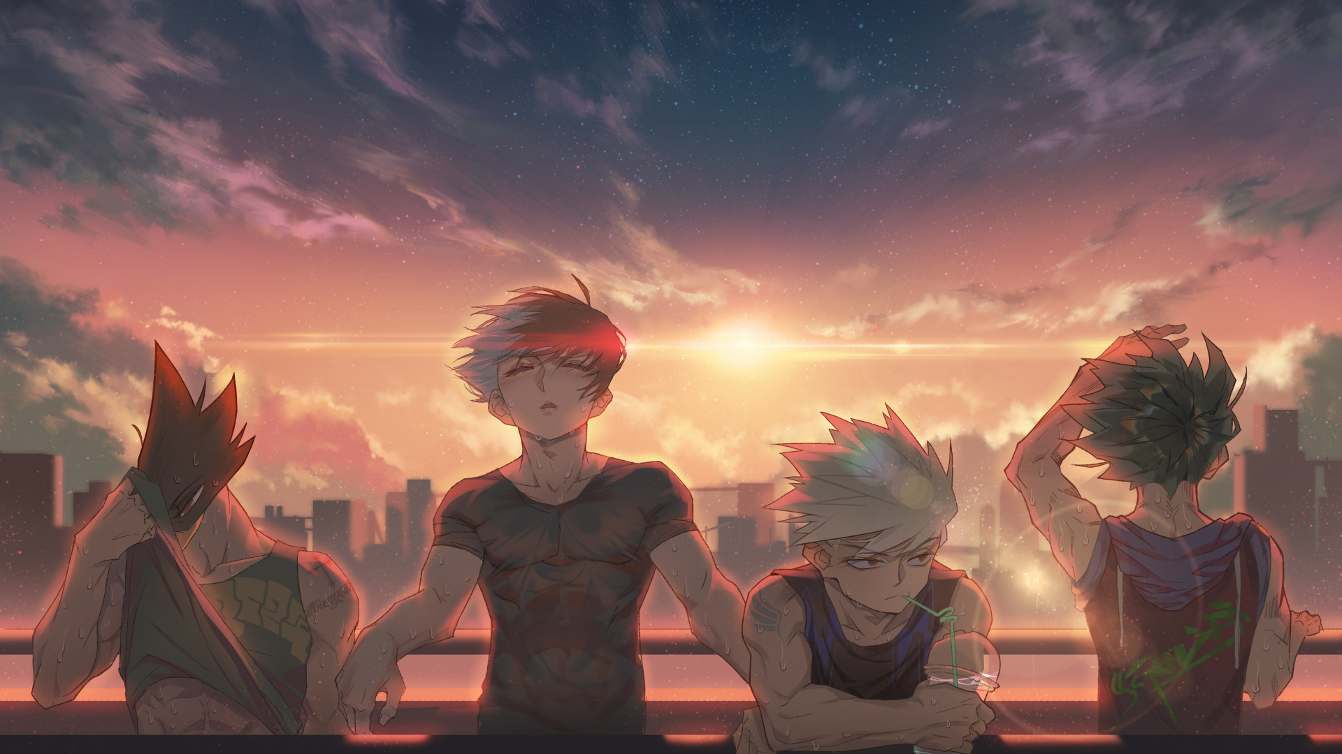 1920x1080 My Hero Academia Anime 1080p Laptop Full Hd Wallpaper Hd Anime 4k Wallpapers Images Photos And Background Wallpapers Den