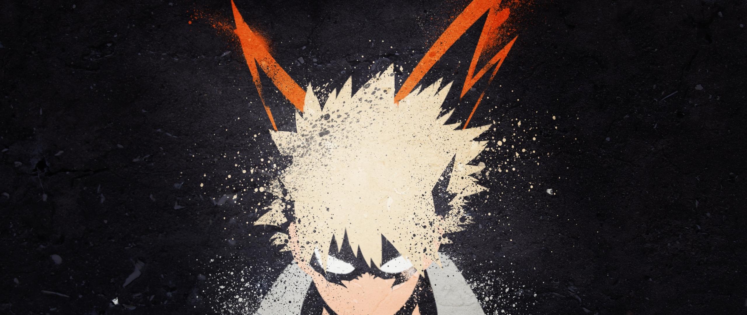 My Hero Academia Katsuki Bakugou Art Hd 4k Wallpaper