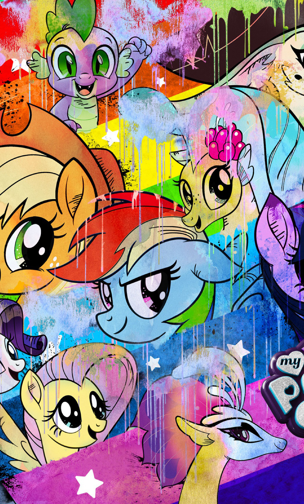 My Little Pony Movie 2017, Full HD 2K Wallpaper