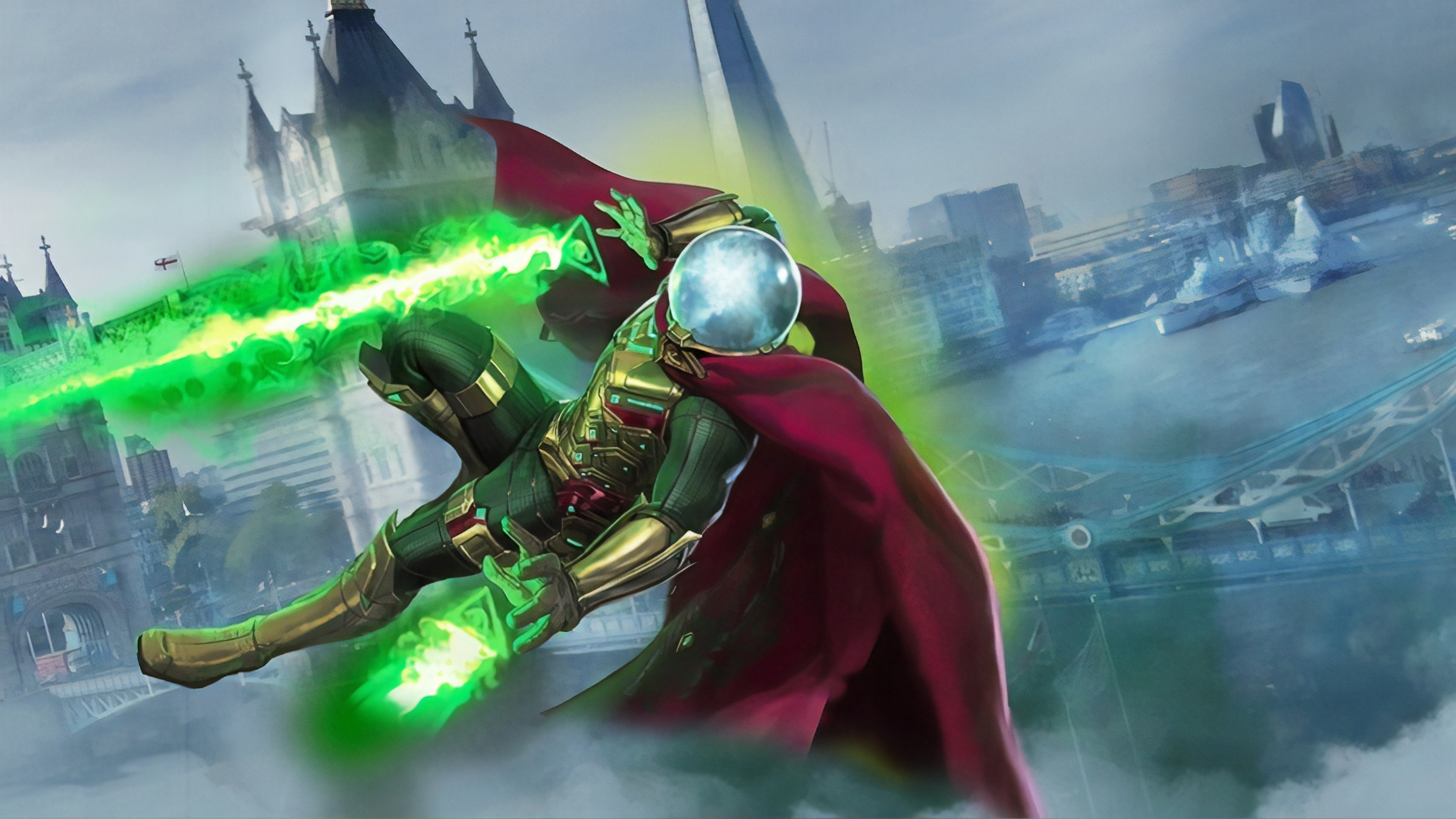 7680x4320 Mysterio In Spiderman Movie 8k Wallpaper Hd Movies 4k Wallpapers Images Photos And Background