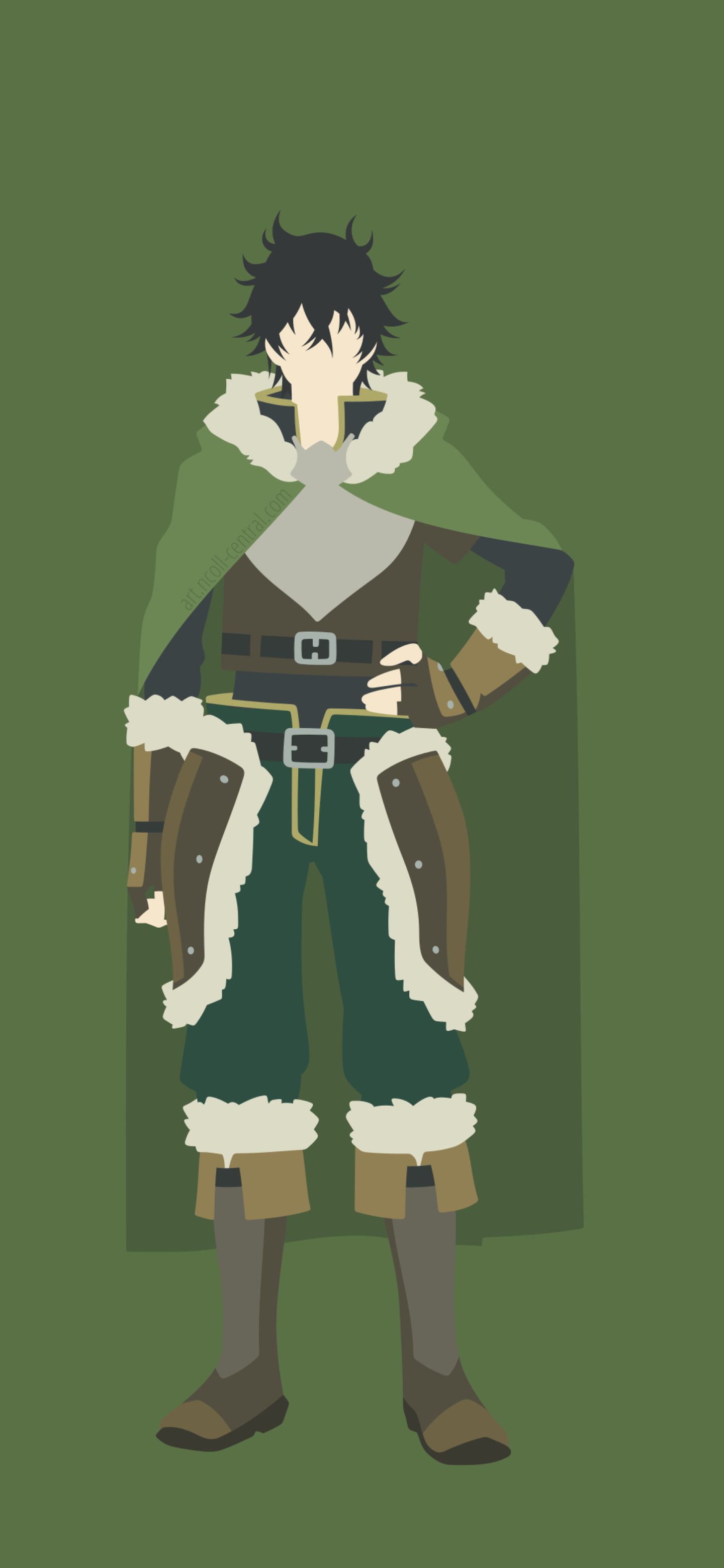 1440x3120 Naofumi Iwatani From The Rising Of The Shield Hero
