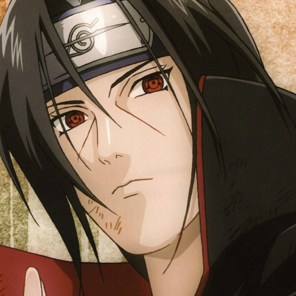 Naruto, Itachi Uchiha, Sharingan, Full HD Wallpaper