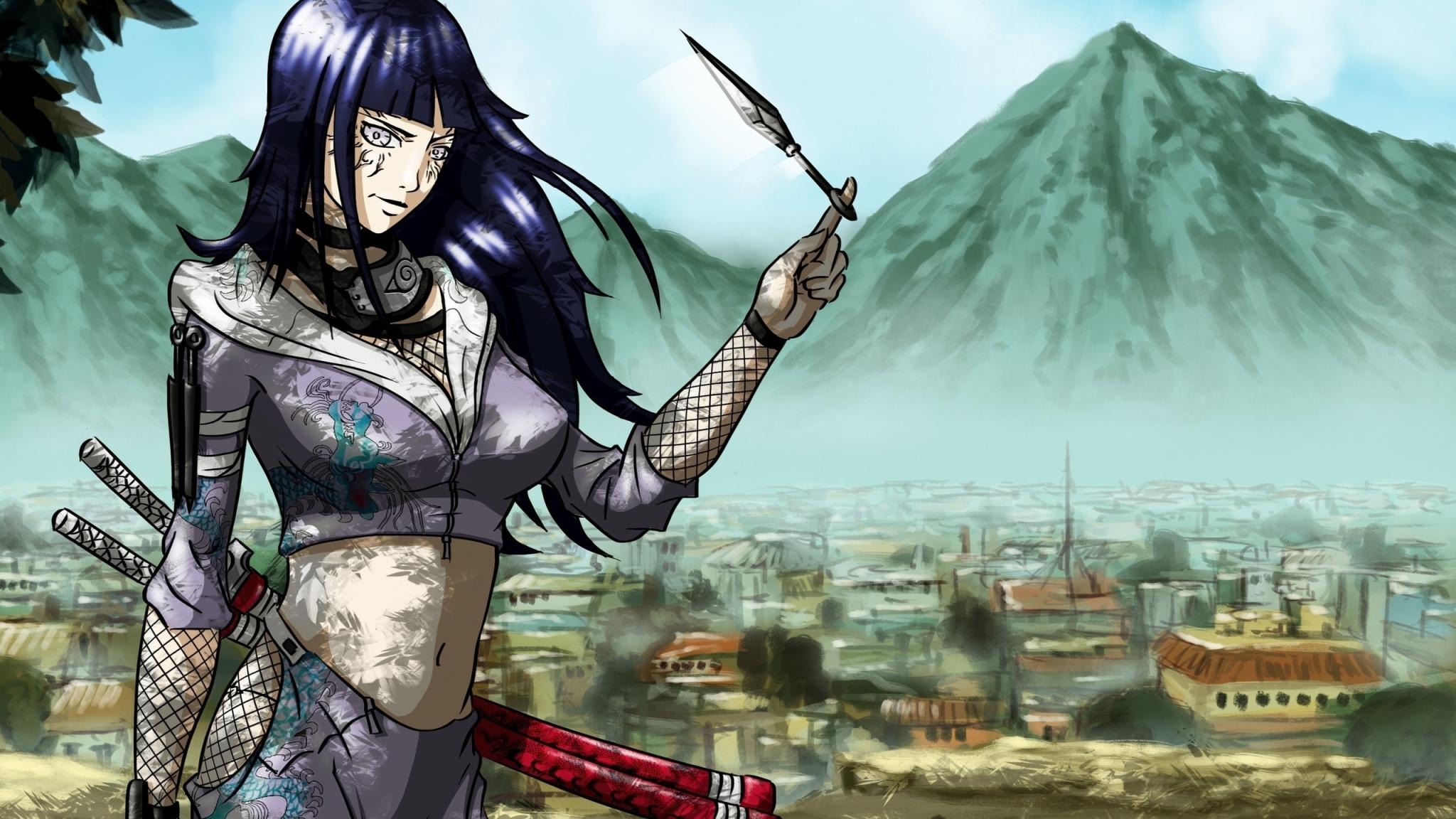 2048x1152 Naruto Naruto Shippuden Hinata Hyuga 2048x1152
