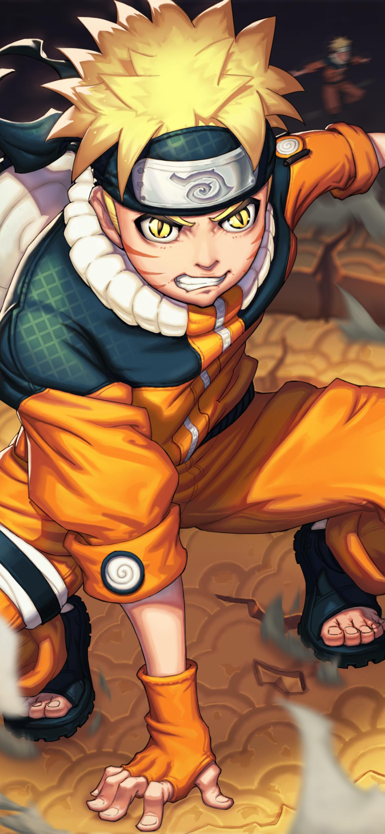 1242x2688 Naruto Uzumaki 4K Art Iphone XS MAX Wallpaper ...