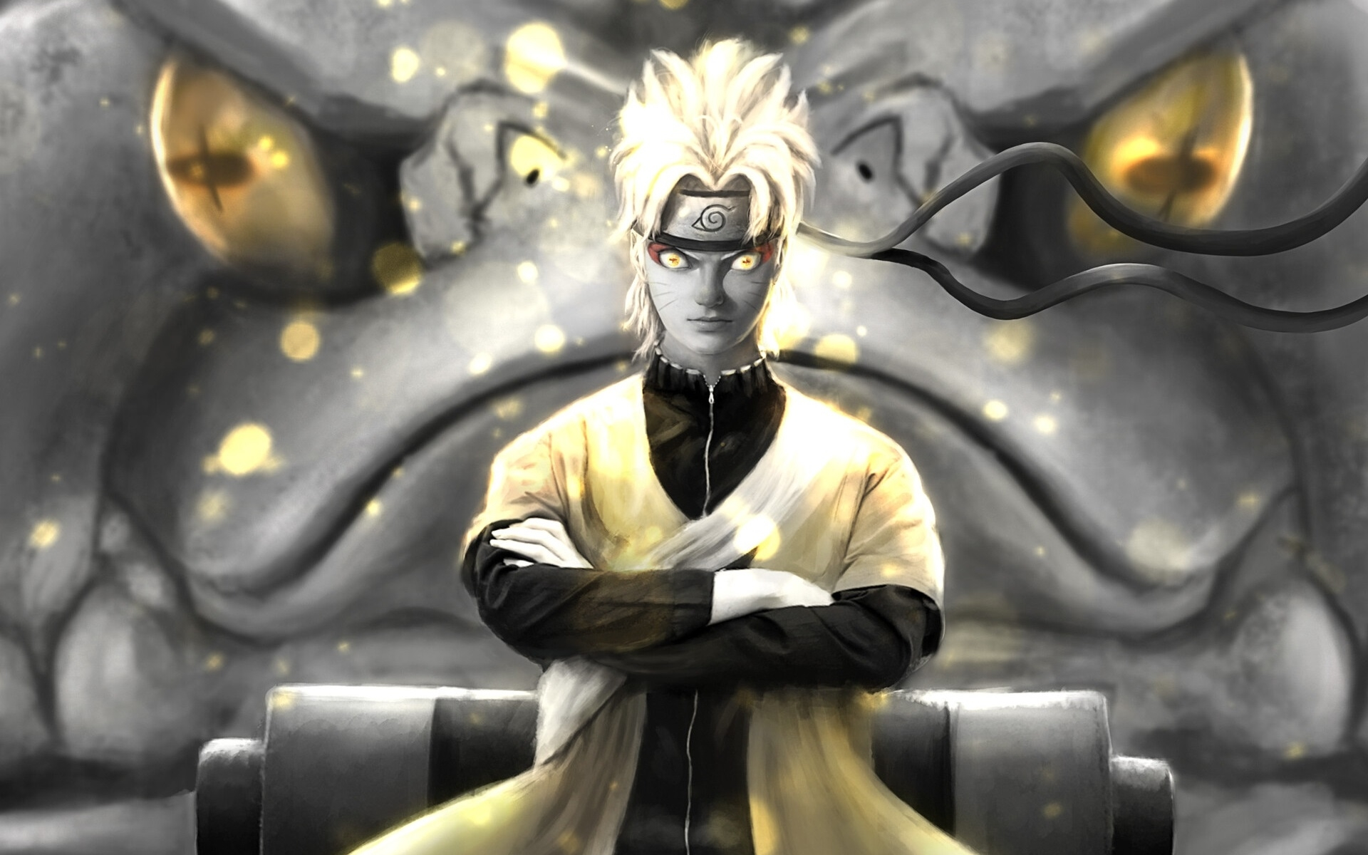 1920x1200 Naruto Uzumaki Orange Eyes 1200P Wallpaper, HD ...