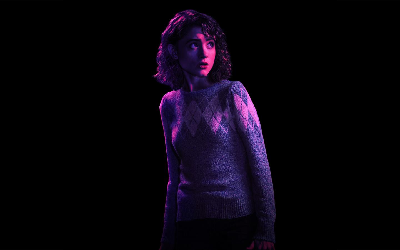Natalia dyer as nancy stranger things season 2 full hd - Stranger things desktop wallpaper ...