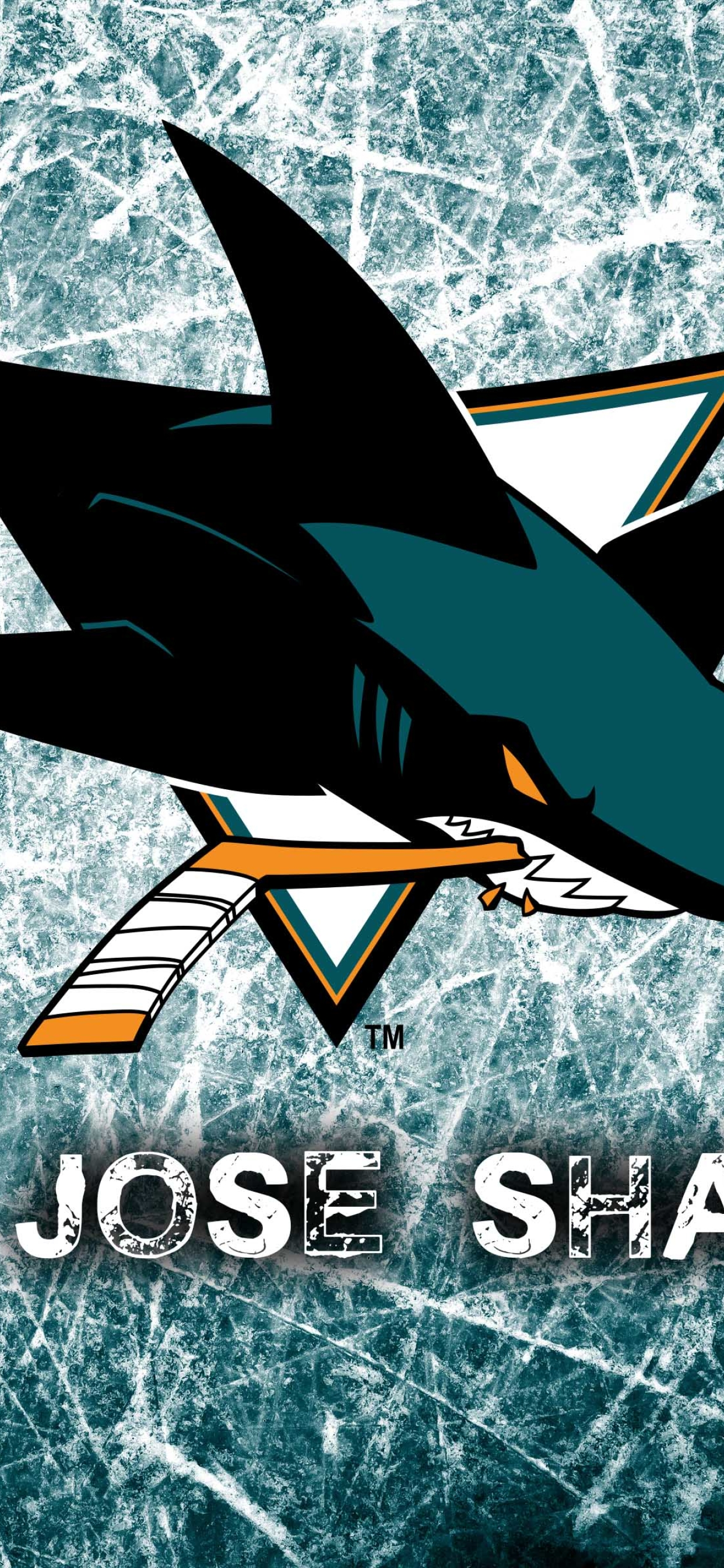 1242x2688 National Hockey League San Jose Sharks Logo Iphone Xs