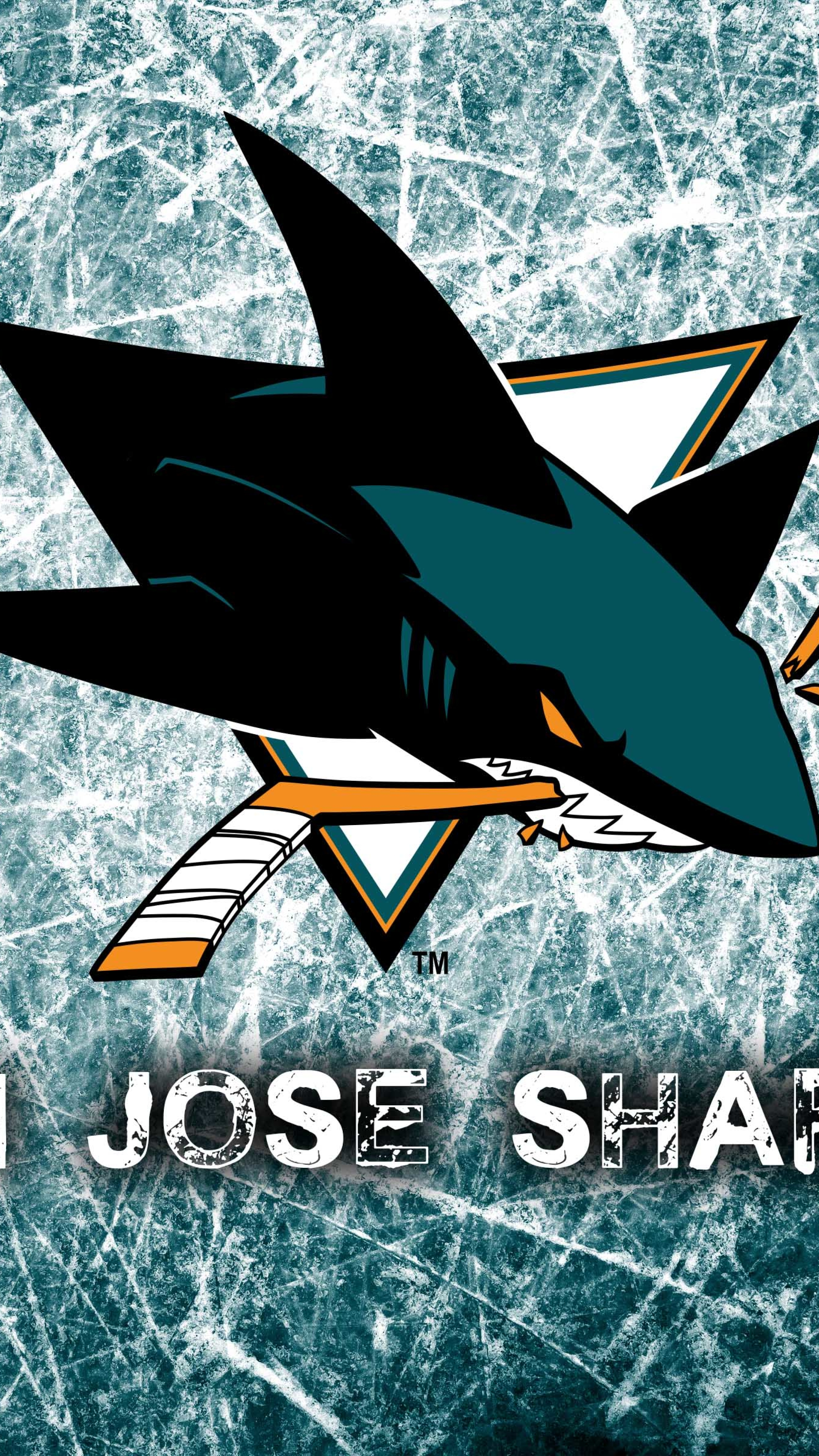 2160x3840 National Hockey League San Jose Sharks Logo Sony