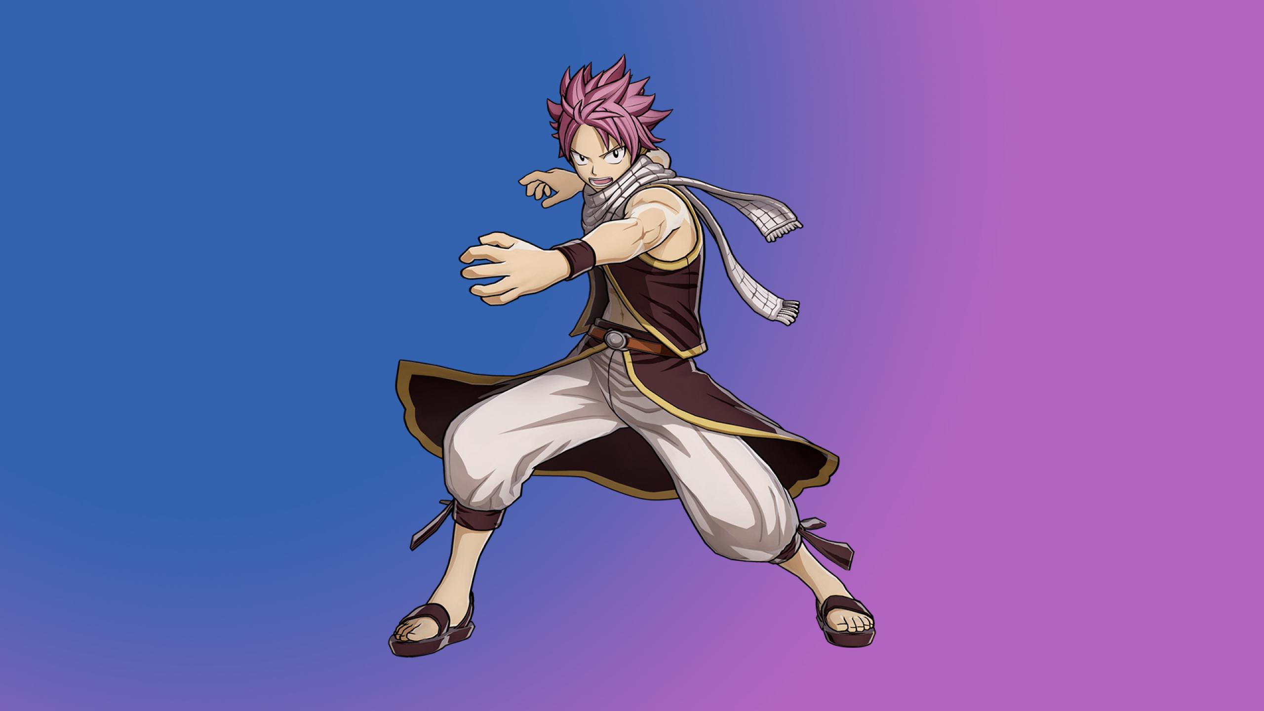 2560x1440 Natsu Dragneel In Fairy Tail