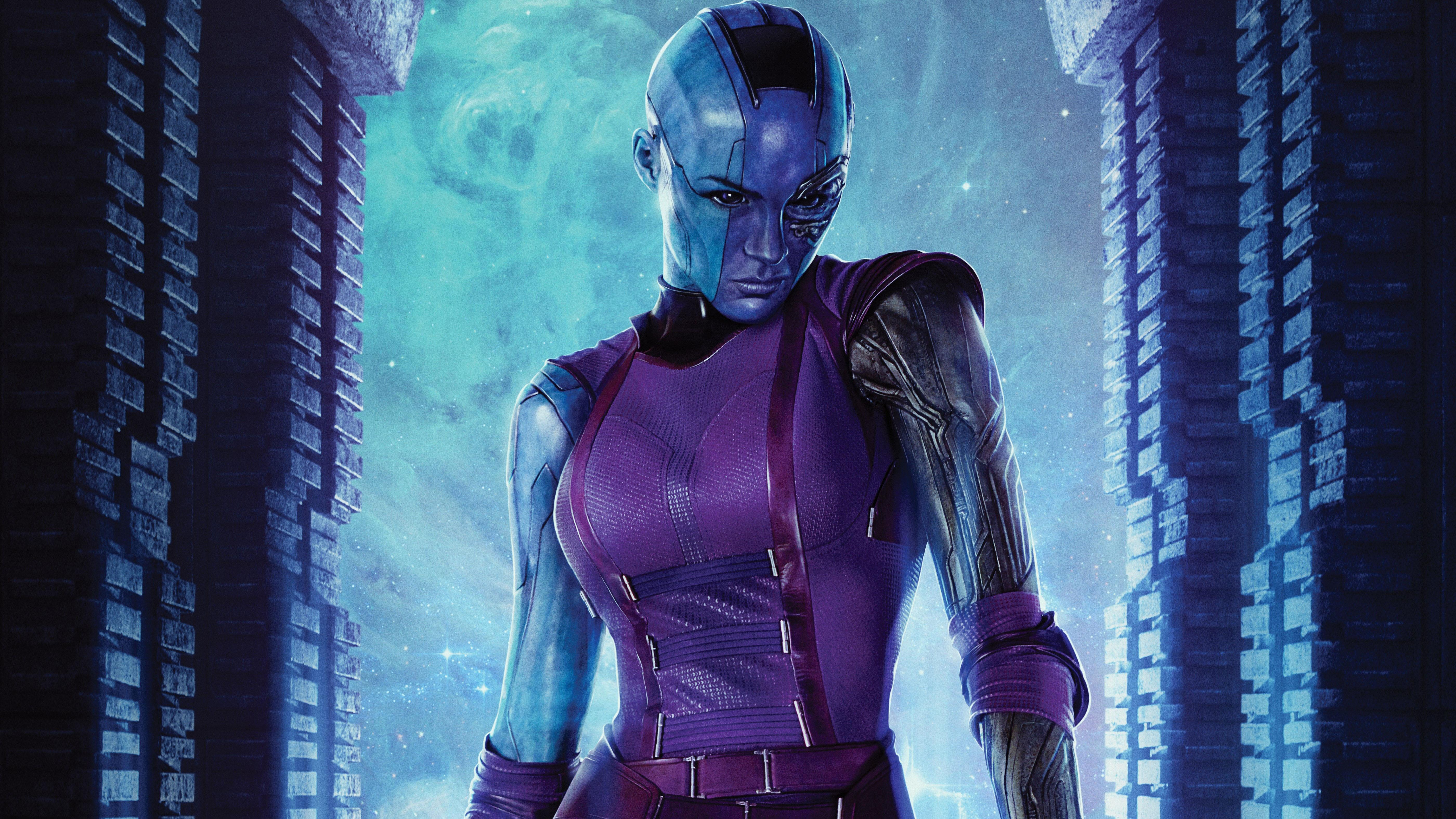 Nebula Guardians Of The Galaxy Vol 2 HD 4K Wallpaper