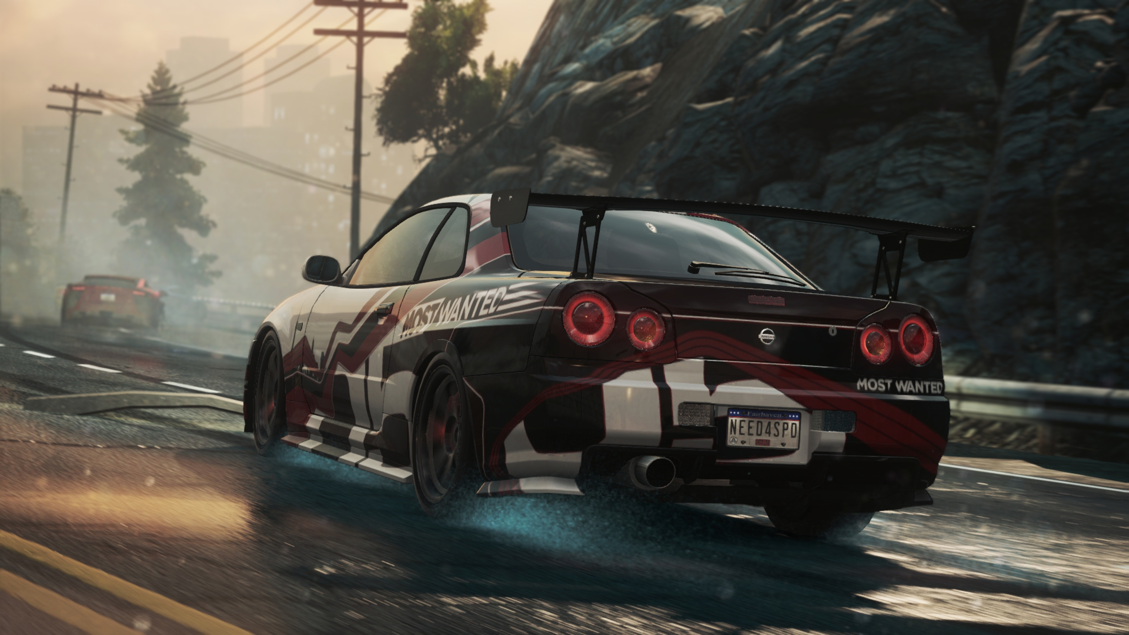3840x2160 Need For Speed Nissan Skyline Gt R Most Wanted 4k Wallpaper Hd Games 4k Wallpapers Images Photos And Background