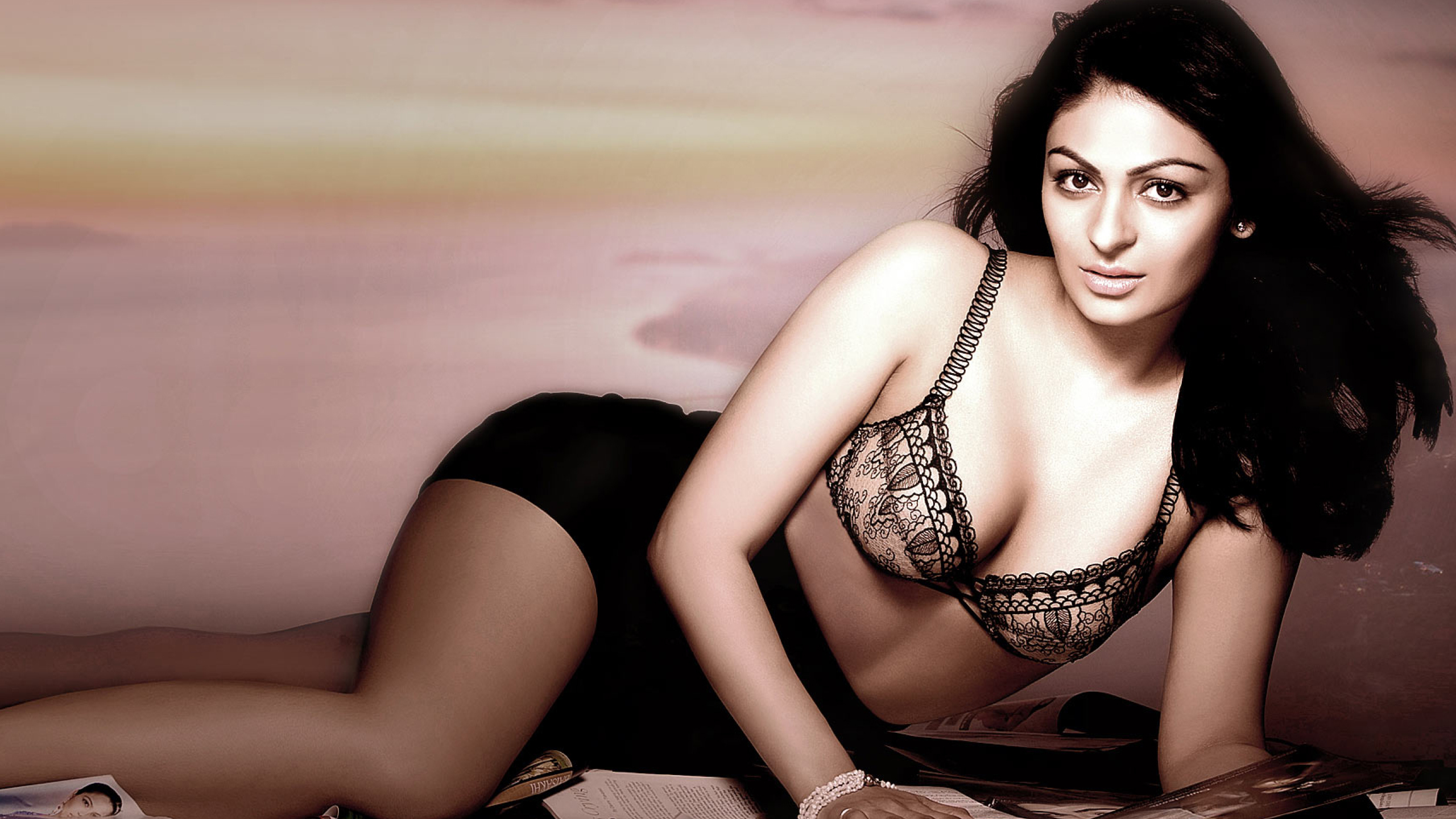 Neeru Bajwa Sexy Cleavage Photoshoot, Full Hd Wallpaper-1630
