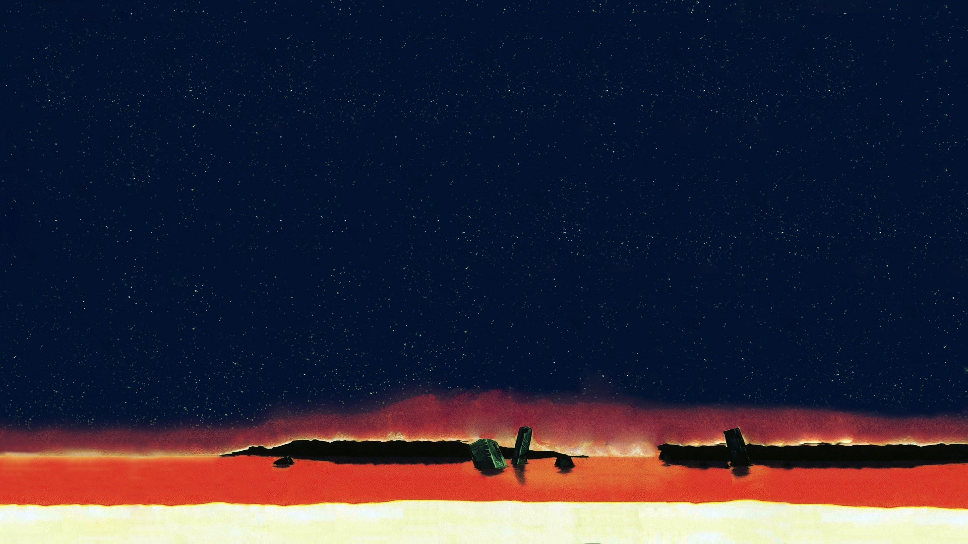 3840x2160 Neon Genesis Evangelion End Art 4k Wallpaper Hd Artist