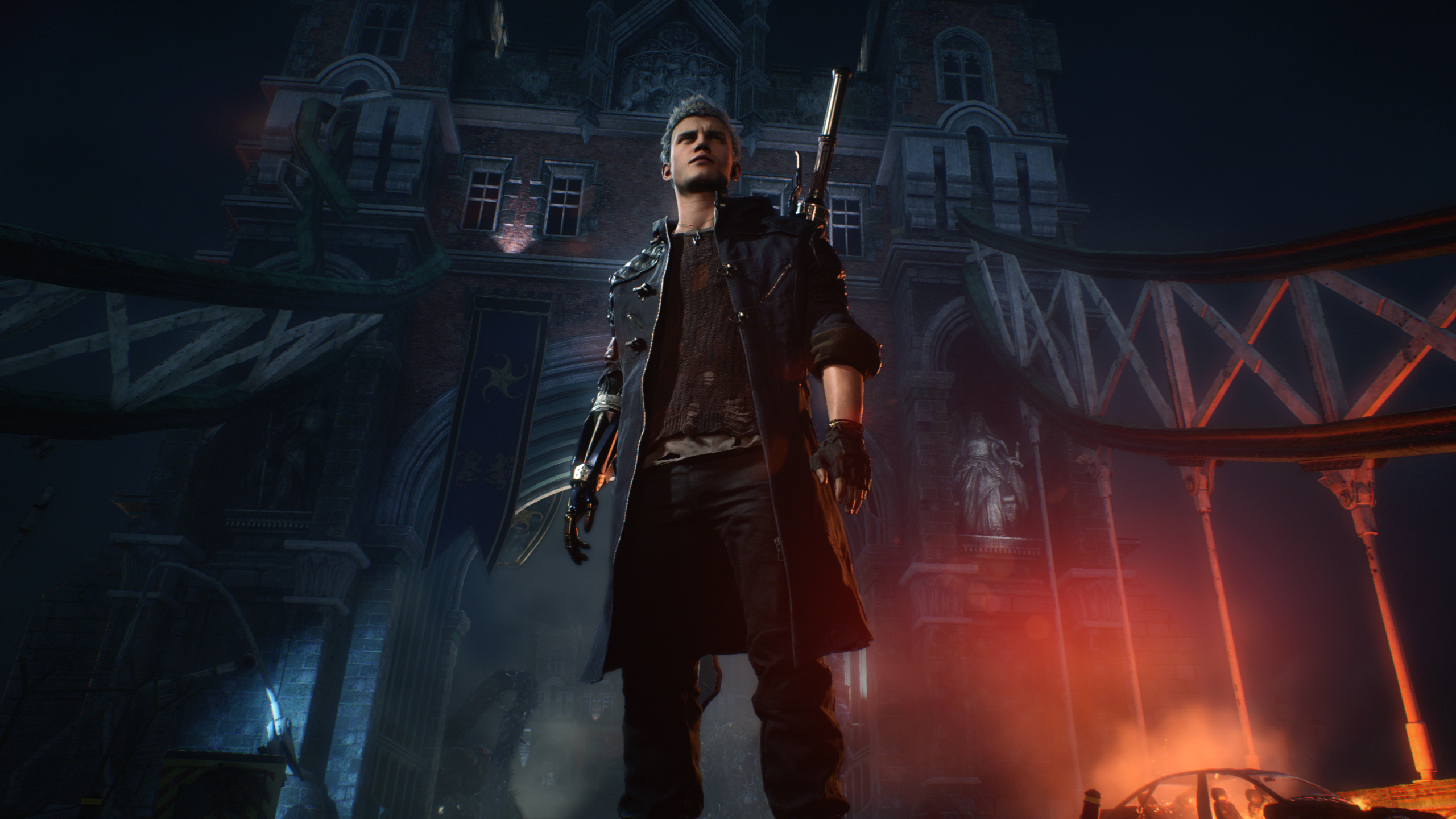 1242x2688 Nero Devil May Cry 5 Iphone Xs Max Wallpaper Hd Games