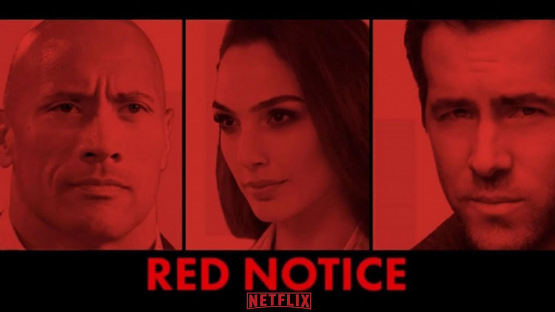 Netflix Red Notice Poster 2021 Wallpaper, HD Movies 4K ...