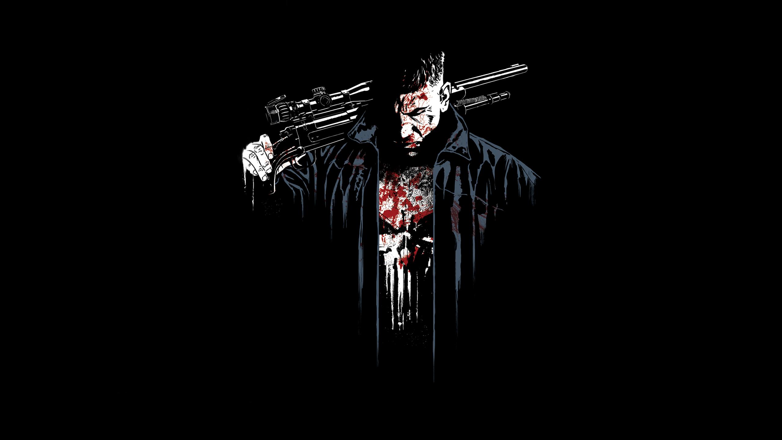 Netflix The Punisher Jon Bernthal Art, Full HD 2K Wallpaper