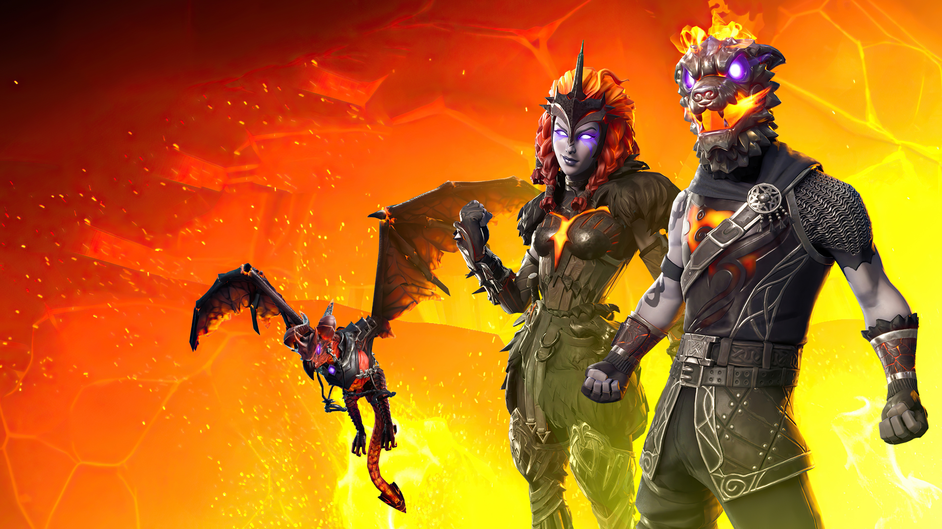 New 2020 Fortnite Lava Wallpaper, HD Games 4K Wallpapers ...