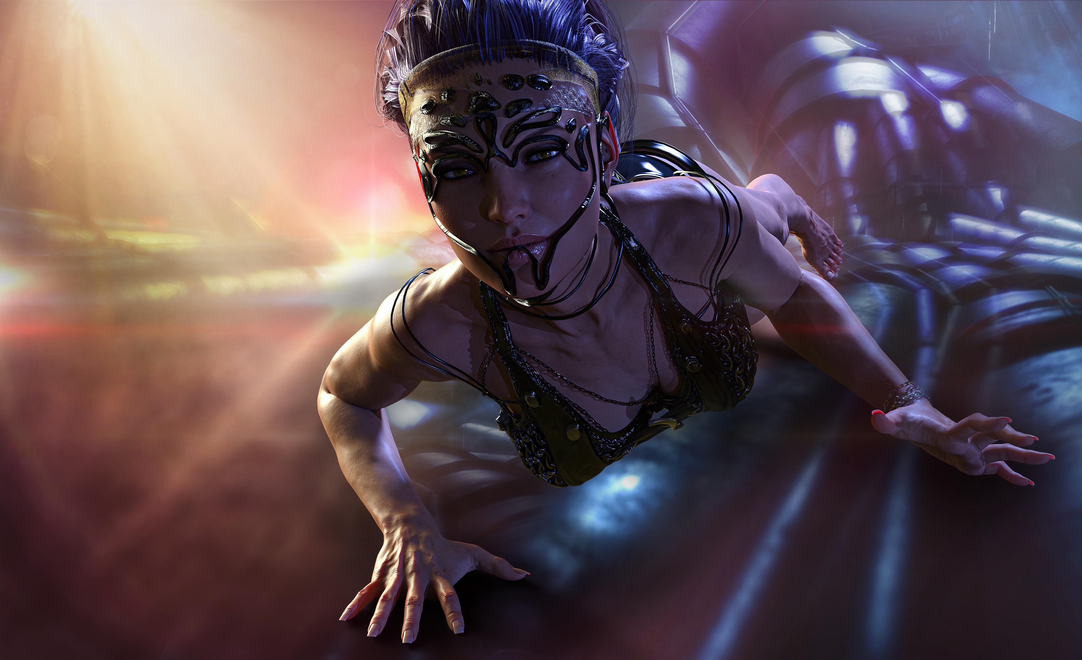 New 4K Cyberpunk Wallpaper, HD Fantasy 4K Wallpapers ...