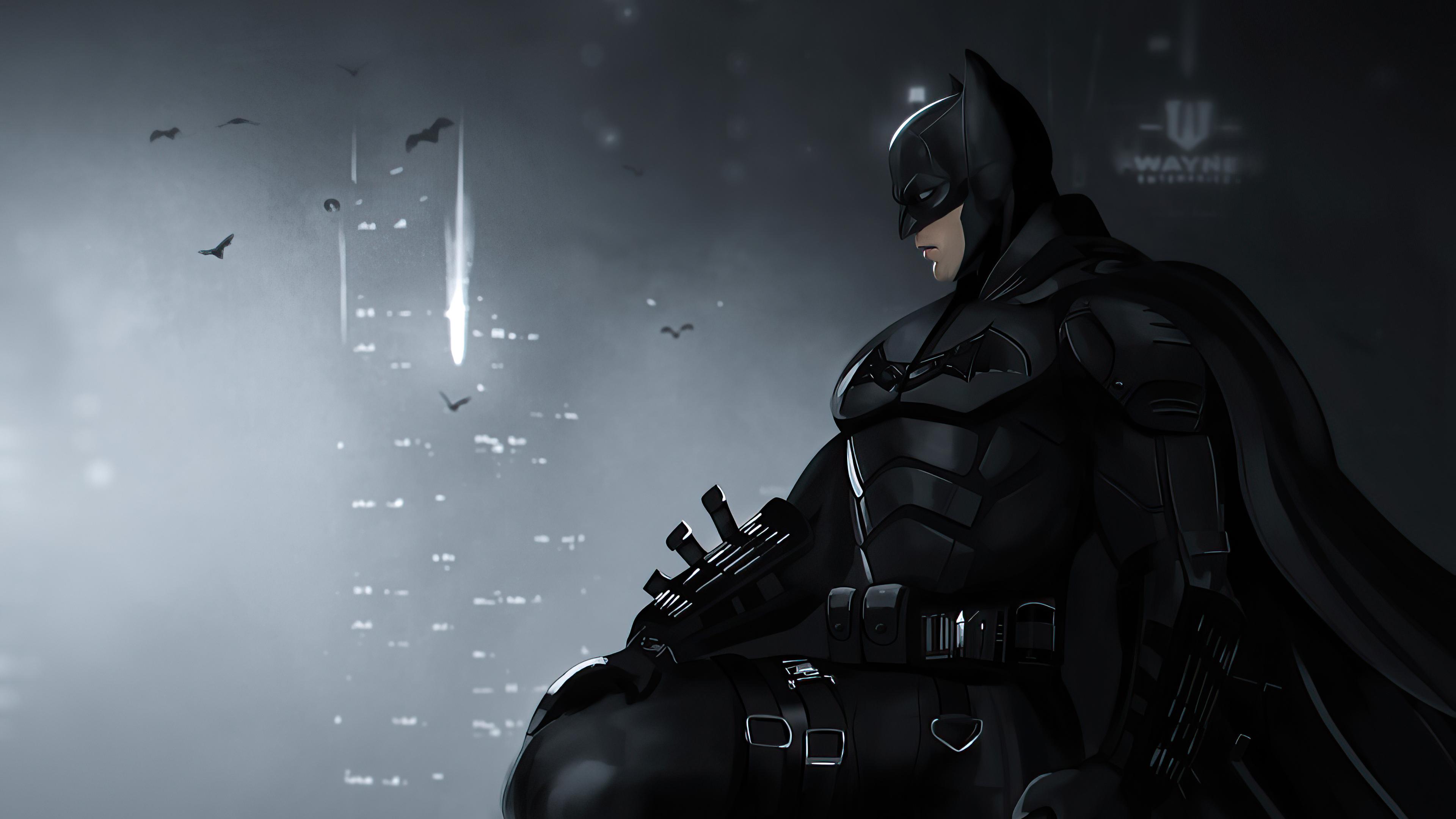The Batman, poster, wallapaper, 2021, free,