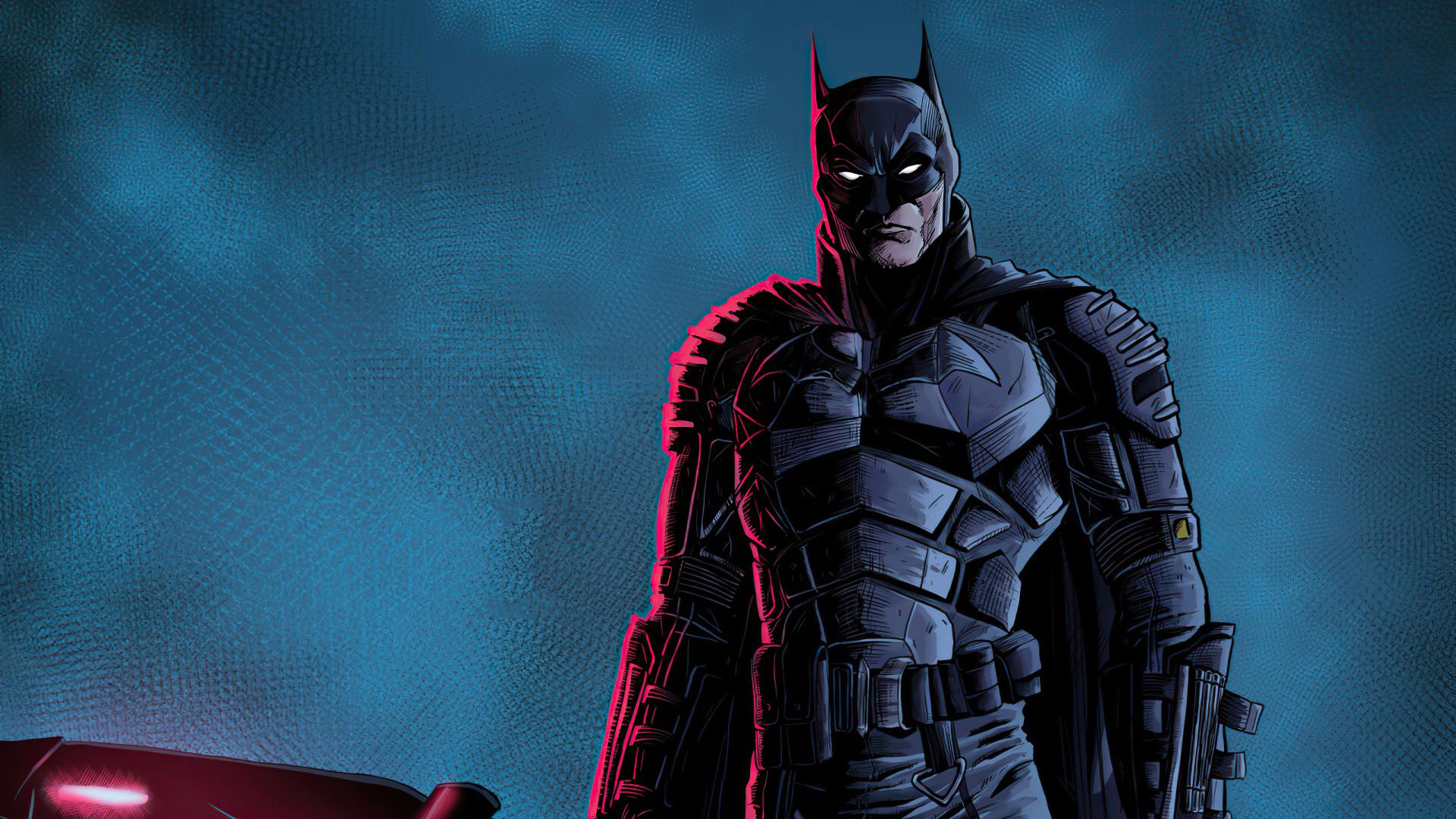 1920x1080 New Batman Illustration 2020 1080P Laptop Full ...