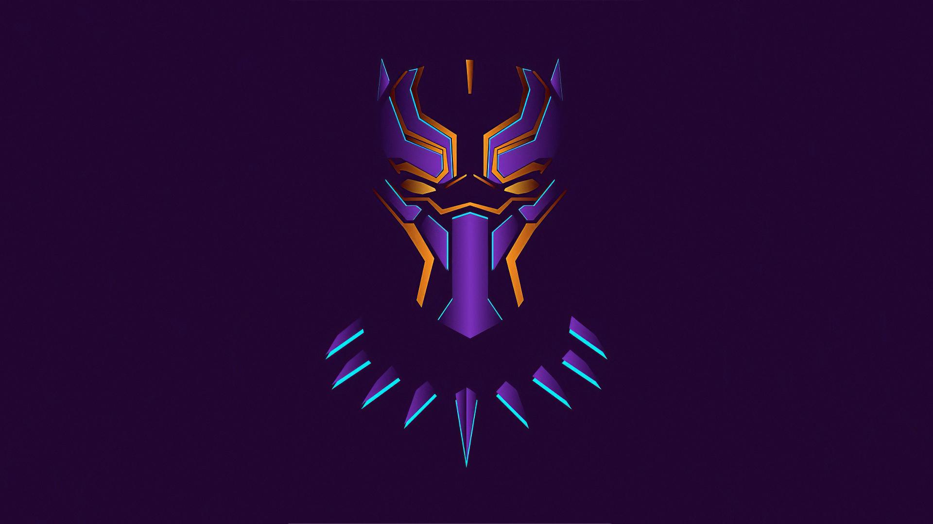 1080x2400 New Black Panther Minimalist 1080x2400 ...