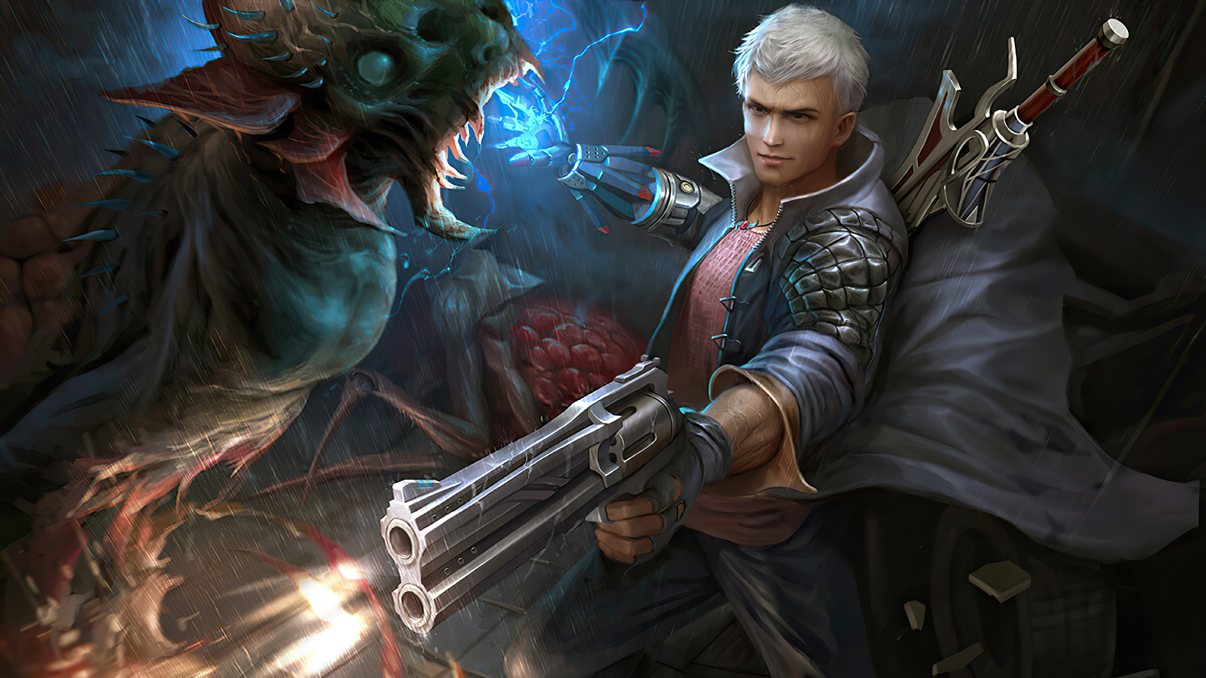New Devil May Cry 5 Art Wallpaper, HD Games 4K Wallpapers ...