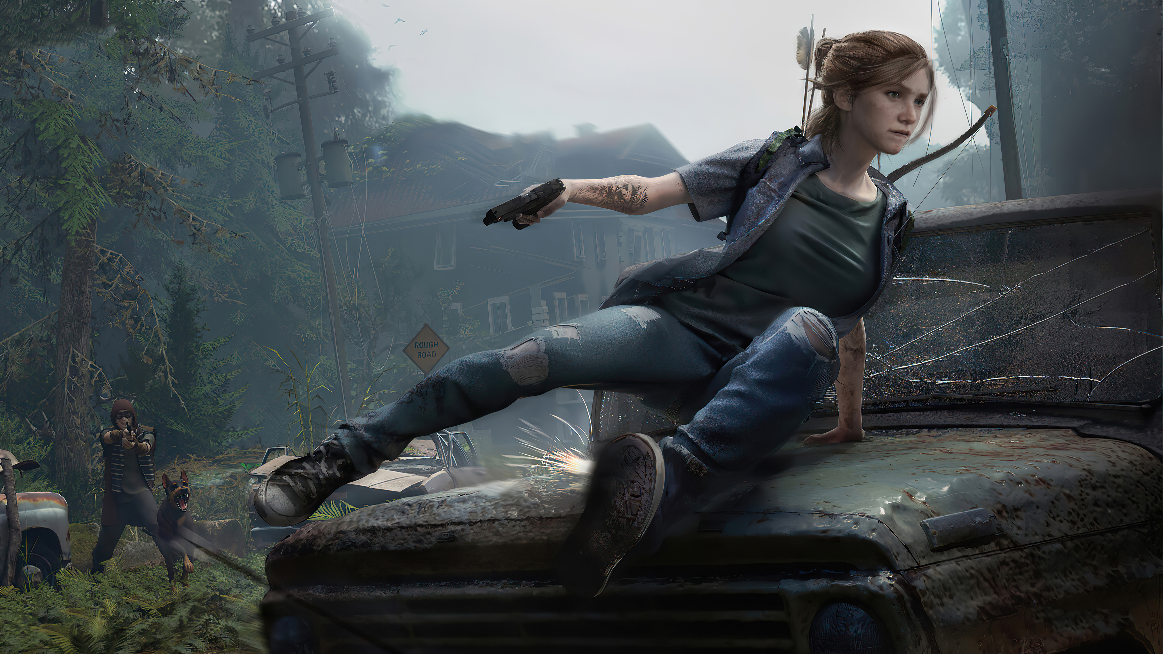New Ellie The Last Of Us 2 Wallpaper Hd Games 4k Wallpapers Images Photos And Background