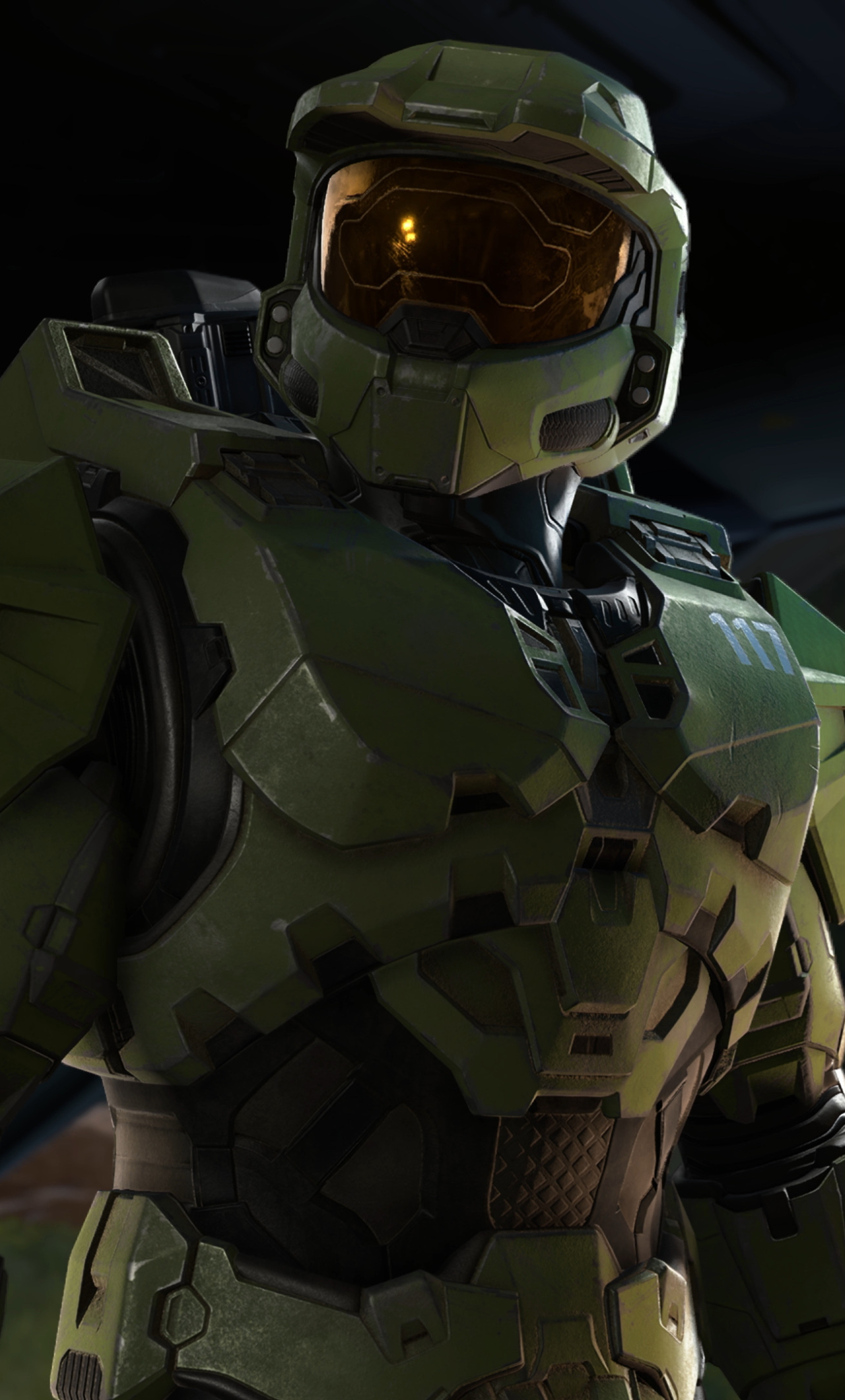 New Halo Infinite 4K Wallpaper in 1280x2120 Resolution