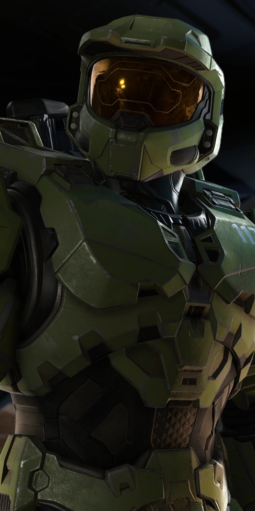 New Halo Infinite 4K Wallpaper in 1080x2160 Resolution