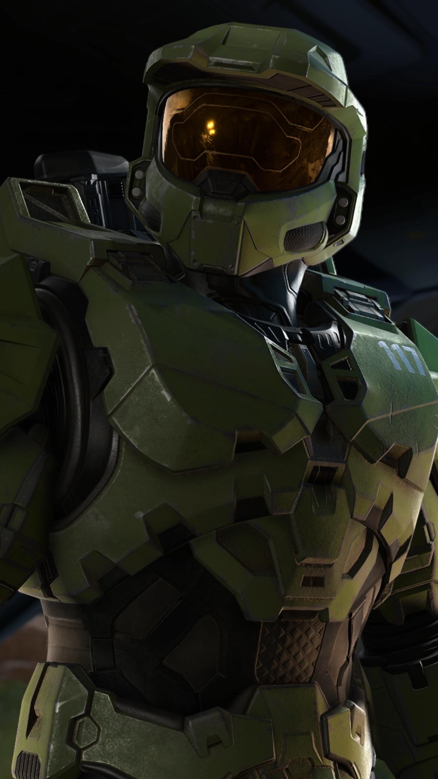 New Halo Infinite 4K Wallpaper in 1440x2560 Resolution