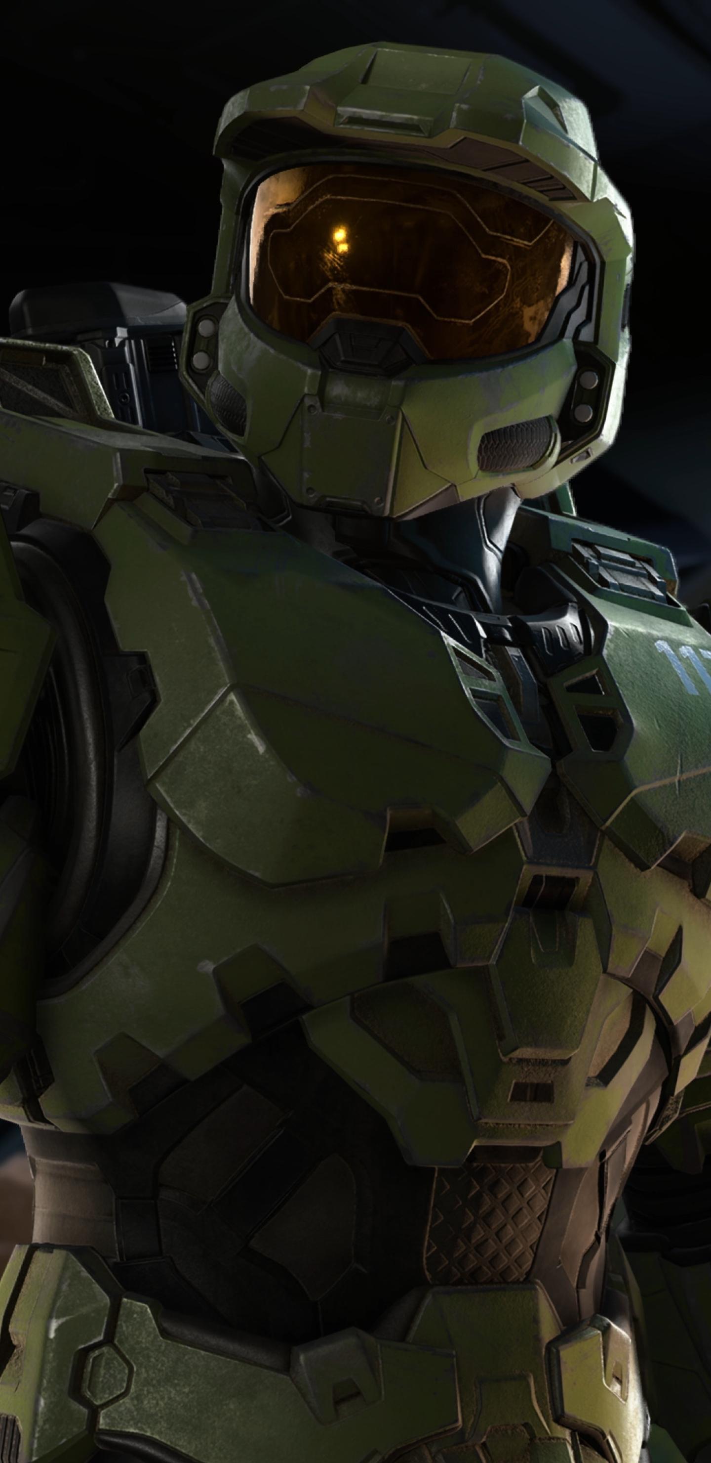 New Halo Infinite 4K Wallpaper in 1440x2960 Resolution