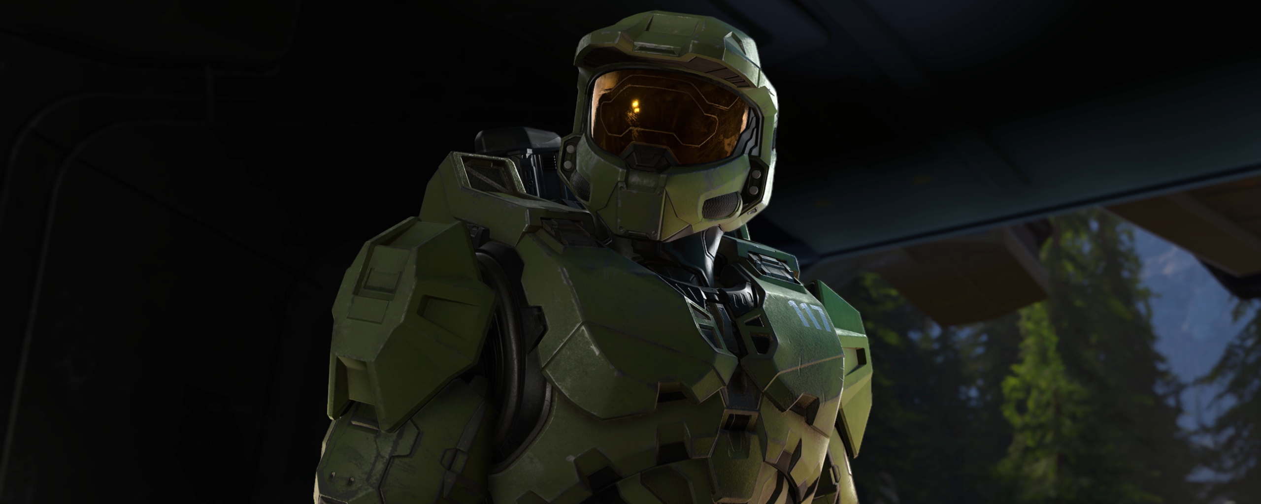 New Halo Infinite 4K Wallpaper in 2560x1024 Resolution