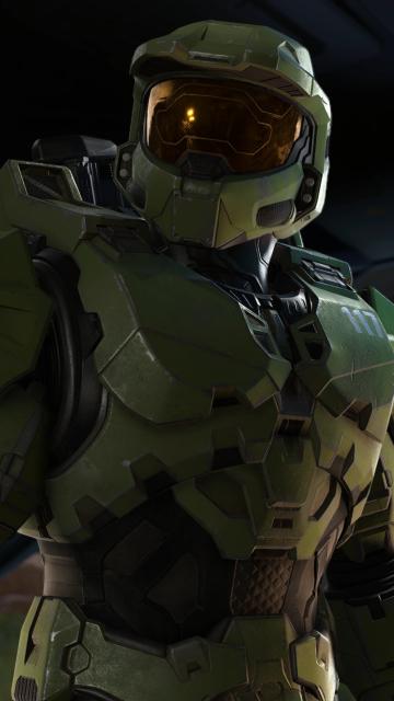 New Halo Infinite 4K Wallpaper in 360x640 Resolution