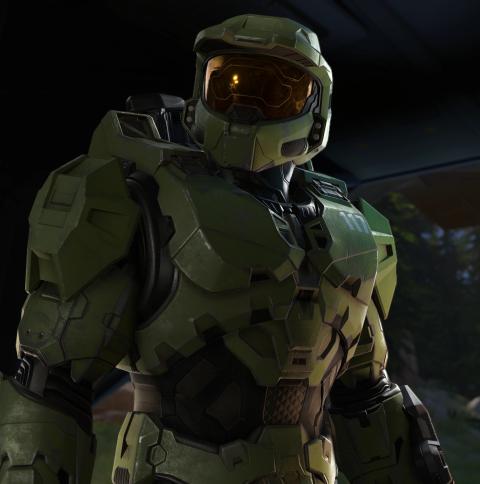 New Halo Infinite 4K Wallpaper in 480x484 Resolution