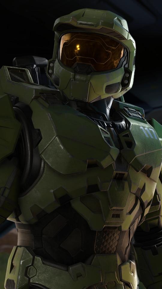 New Halo Infinite 4K Wallpaper in 540x960 Resolution