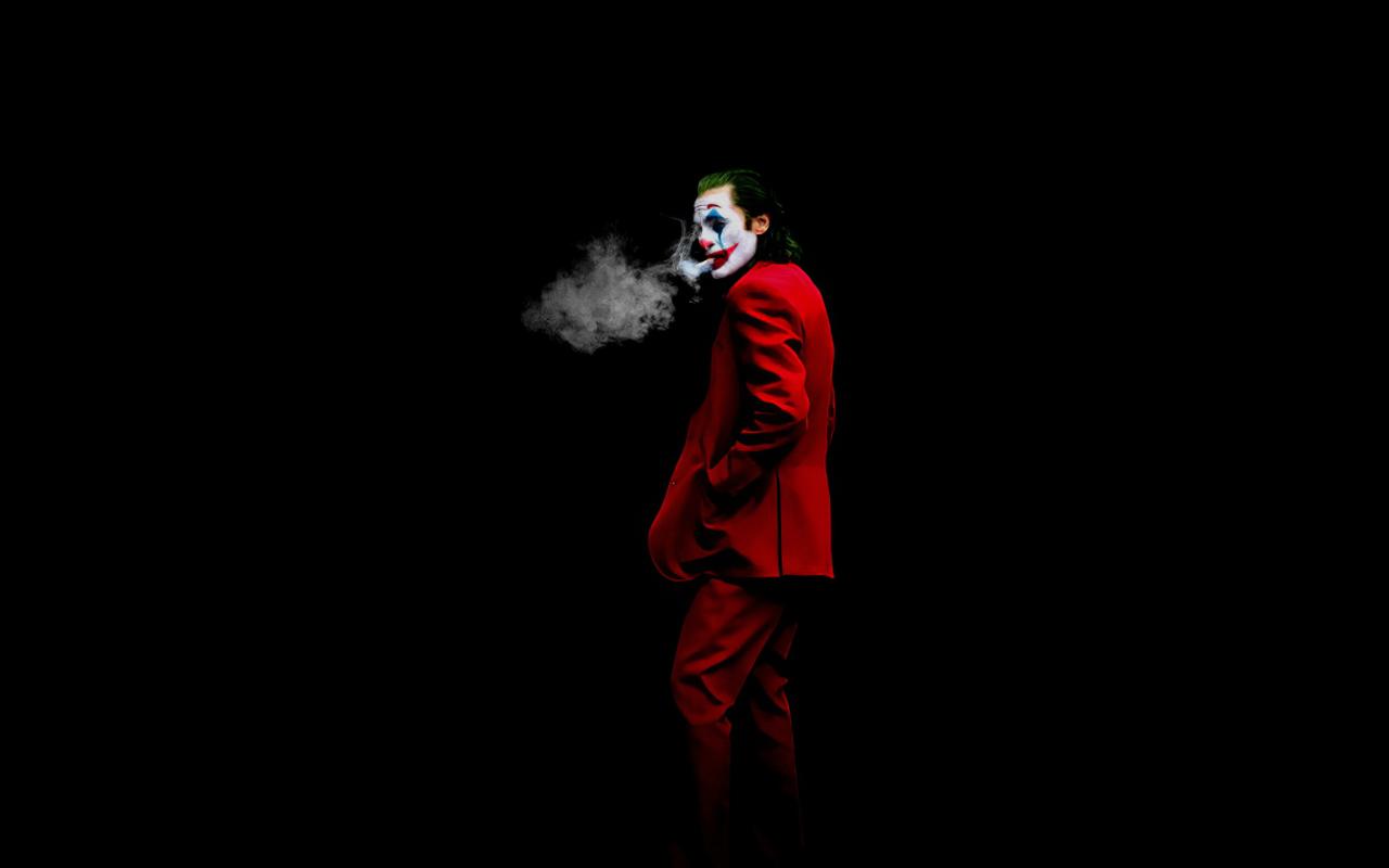 New Joker 2020 Art Wallpaper in 1280x800 Resolution