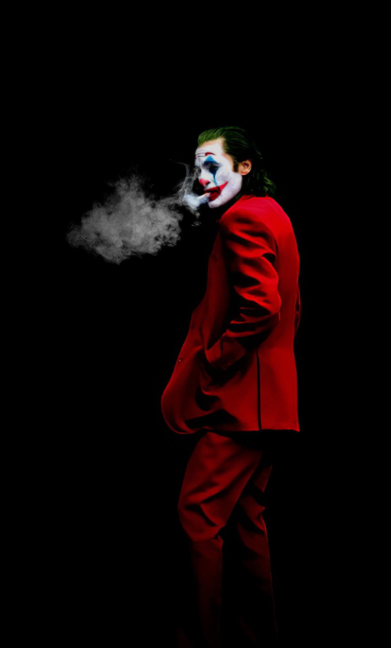 New Joker 2020 Art Wallpaper in 1280x2120 Resolution