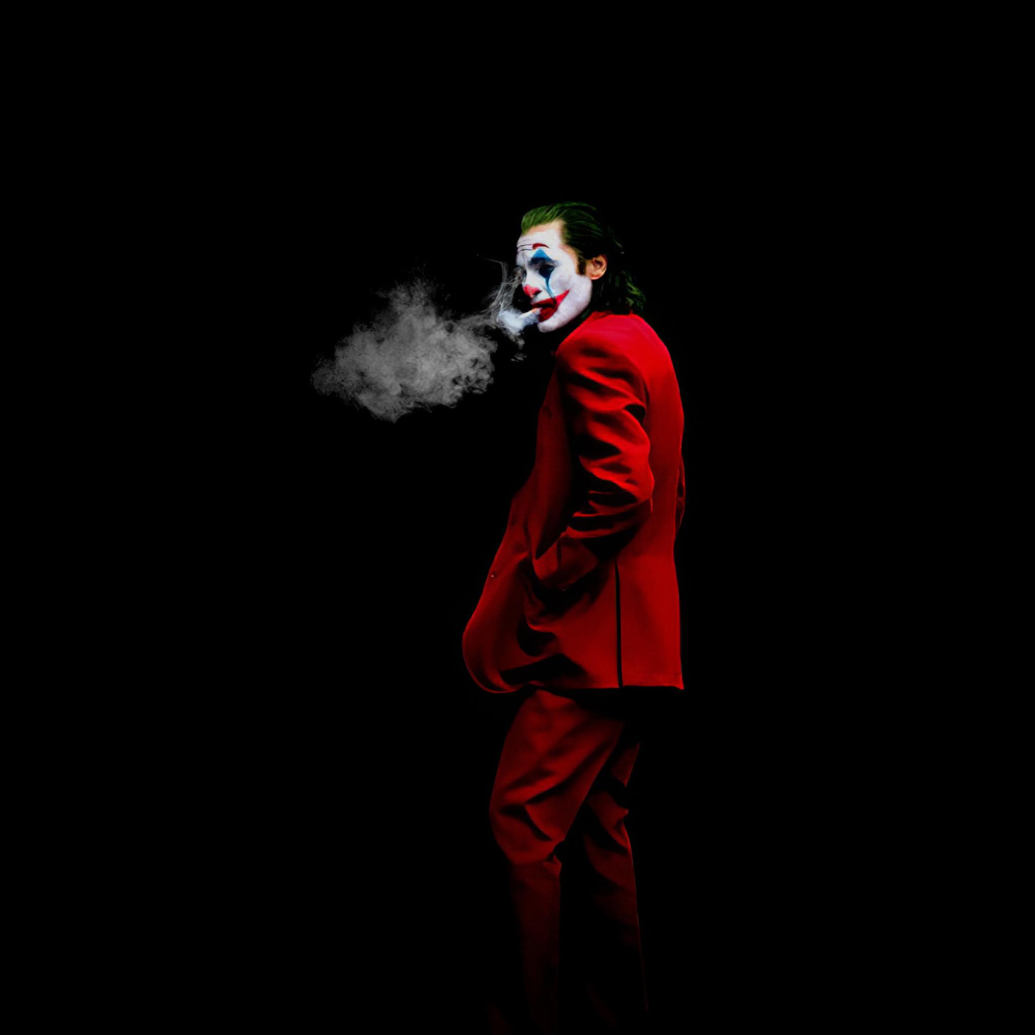 New Joker 2020 Art Wallpaper in 2048x2048 Resolution