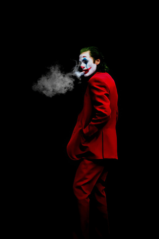 New Joker 2020 Art Wallpaper in 320x480 Resolution