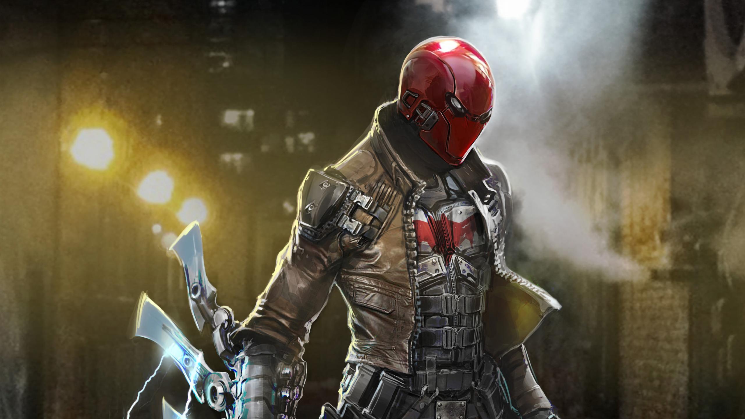 Red Hood Artwork, HD Superheroes, 4k Wallpapers, Images