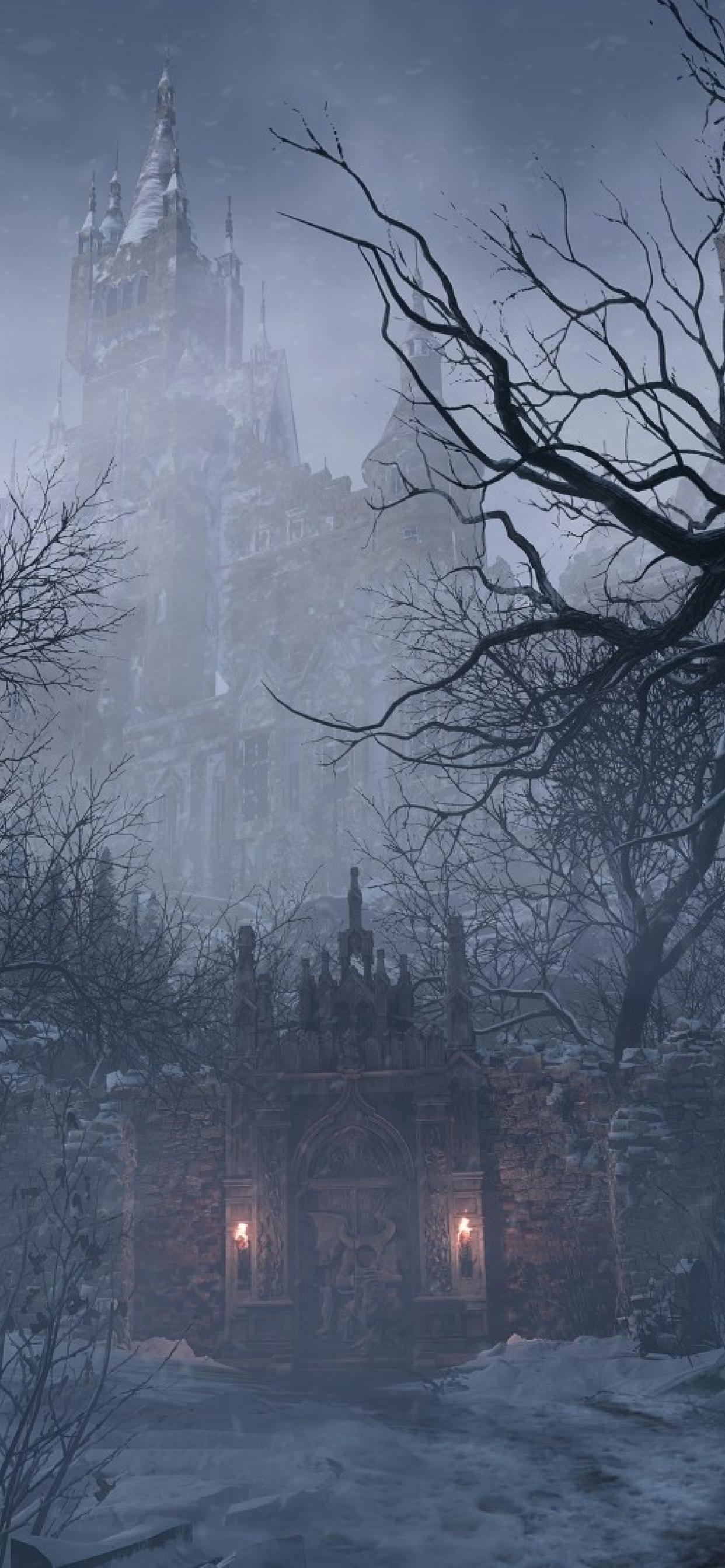 1242x2688 New Resident Evil Village 2021 Iphone XS MAX ...