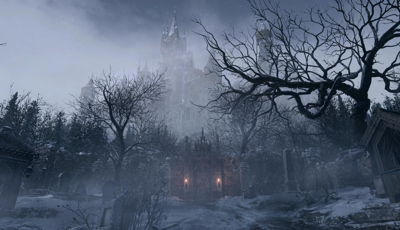 1336x768 New Resident Evil Village 2021 HD Laptop ...