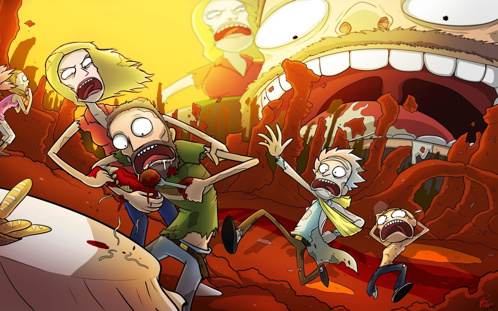 1680x1050 New Rick And Morty 2020 1680x1050 Resolution ...