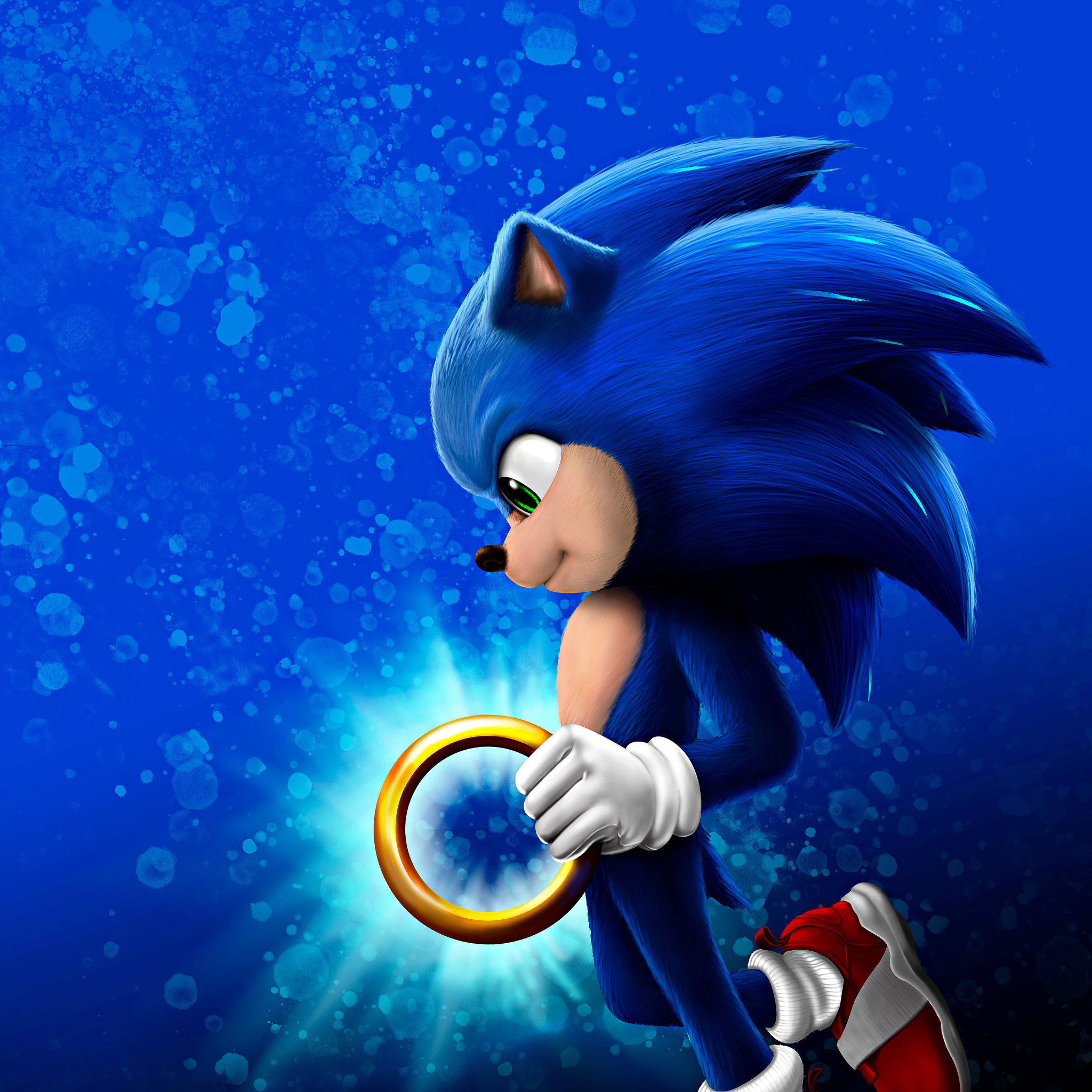 2048x2048 New Sonic Hedgehog Ipad Air Wallpaper Hd Movies 4k Wallpapers Images Photos And Background