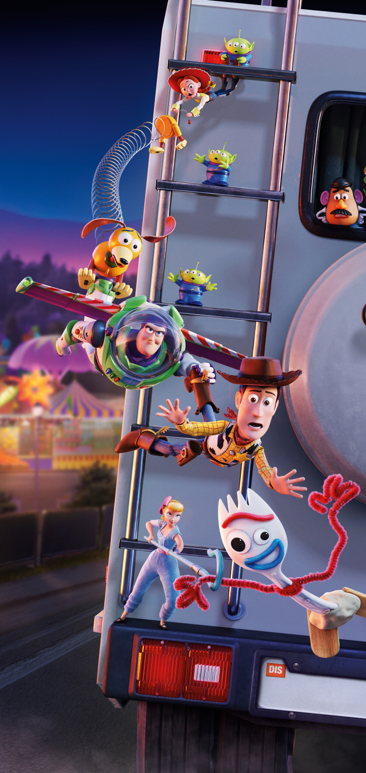 720x1520 New Toy Story 4 Poster 720x1520 Resolution