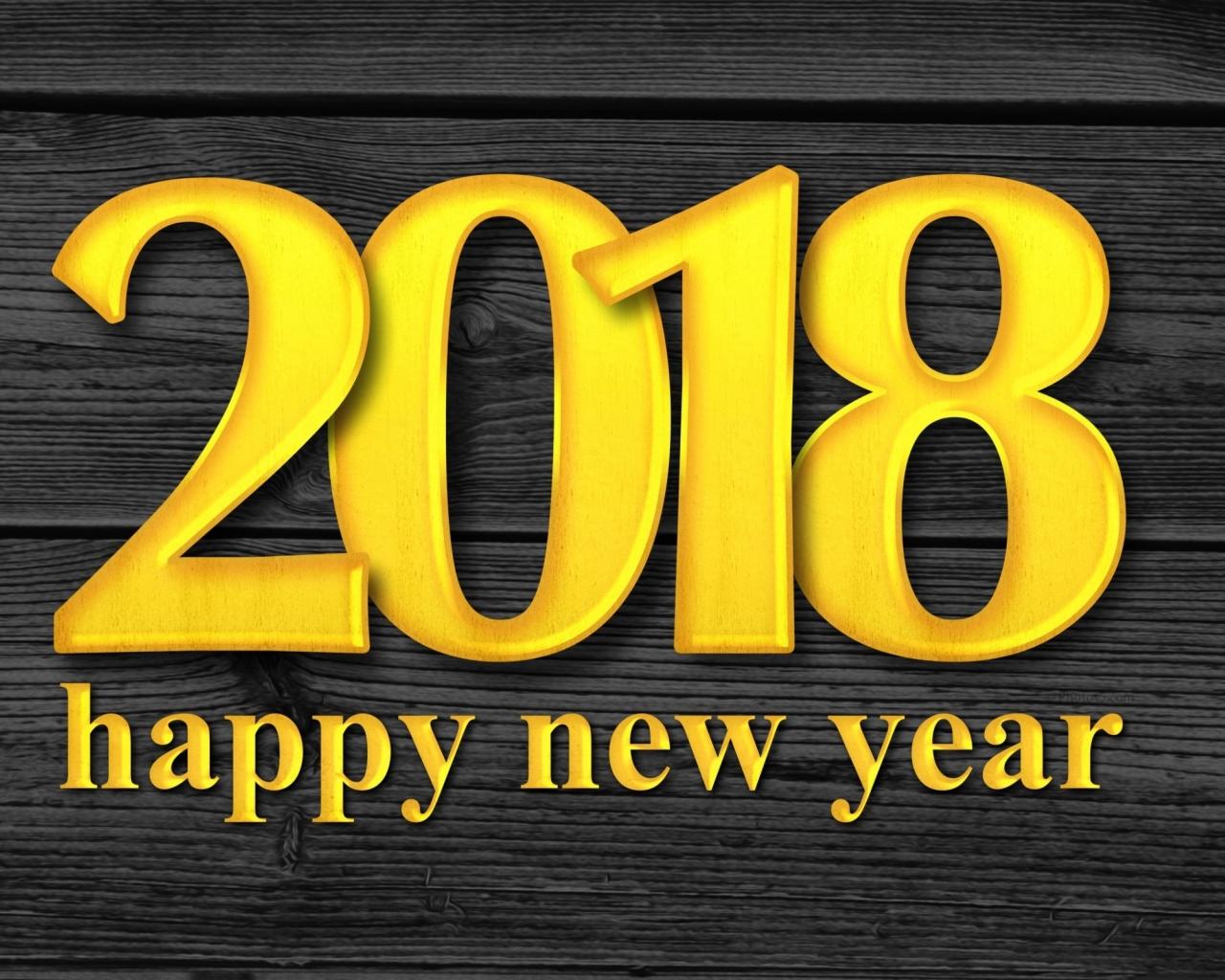 1280x1024 New Year 2018 Happy New Year 1280x1024 Resolution